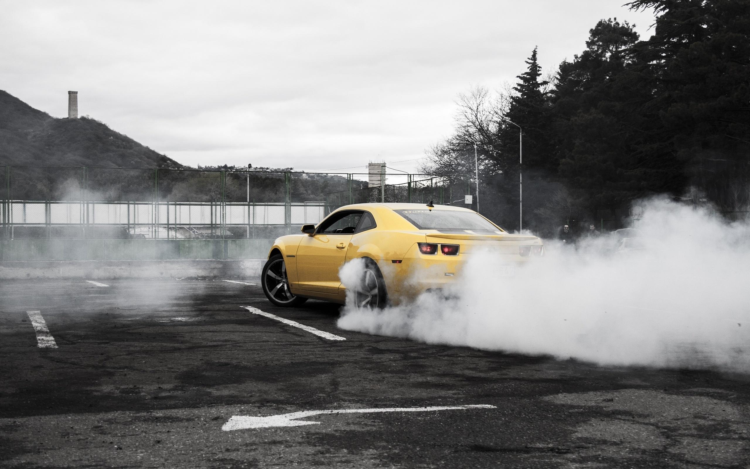 chevrolet amarillo coches pantalla camaro wallpaper fondos svetik es de descargar