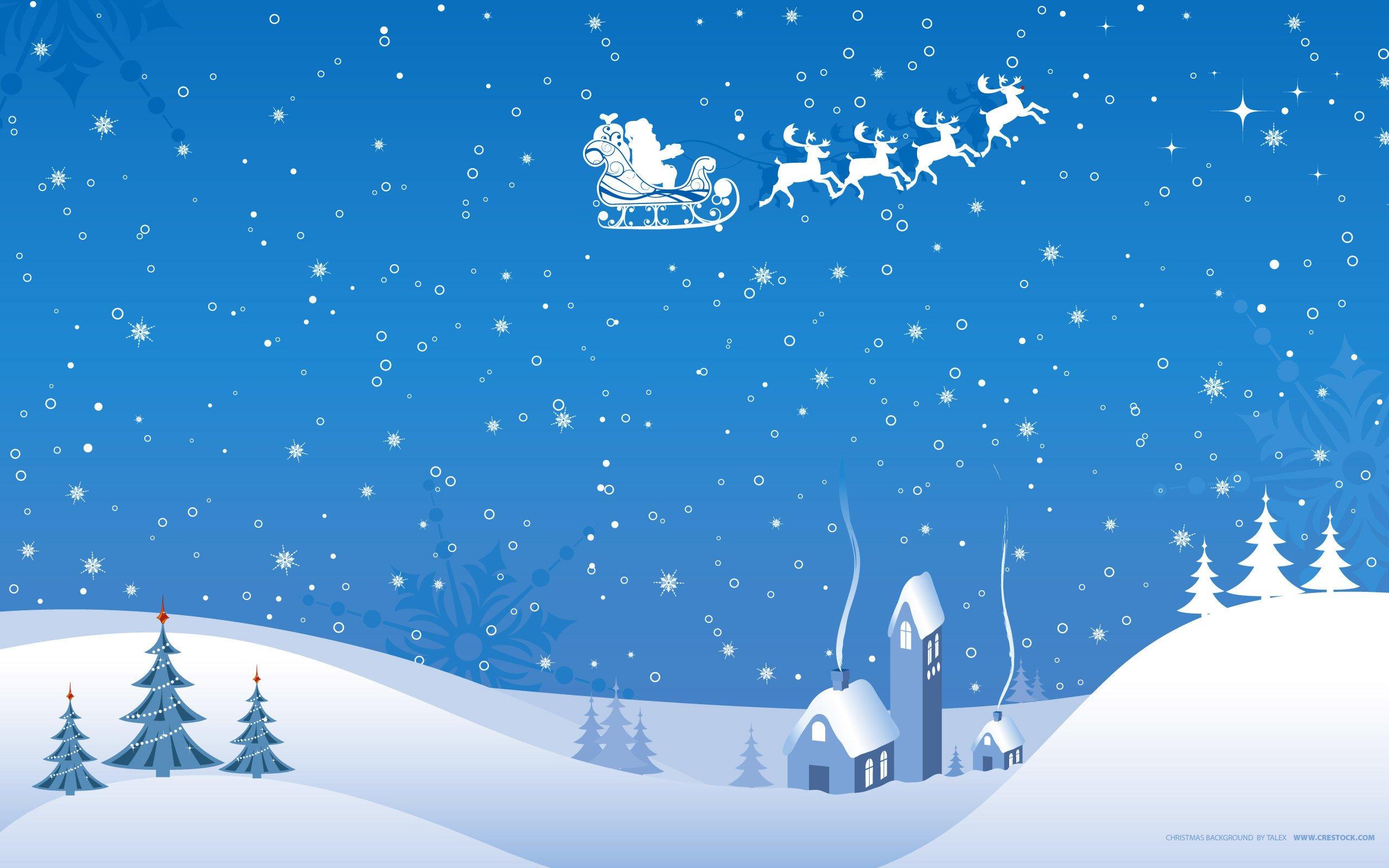 Hintergrundbilder : 2560x1600 px, Weihnachten, Szene, Schnee ...