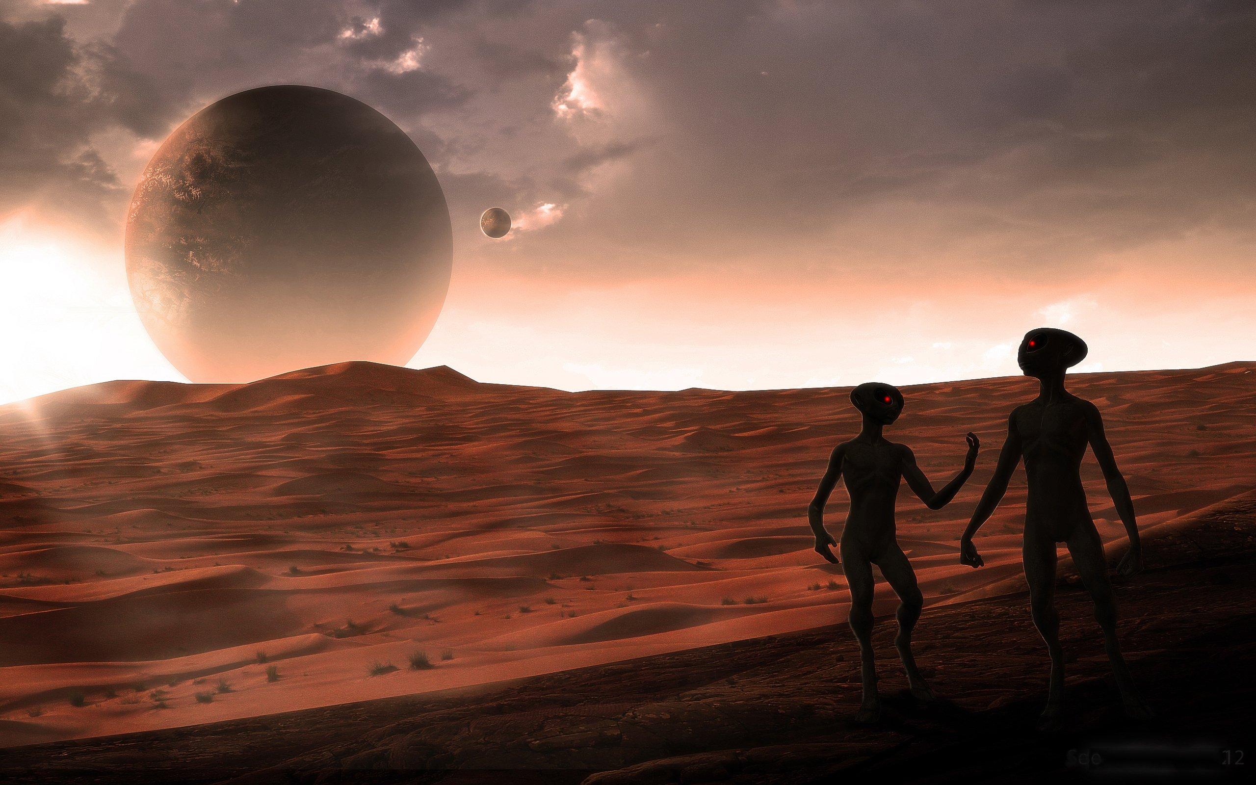 Fond d'écran : 2560x1600 px, extraterrestres, planète, science fiction 2560x1600 - goodfon ...