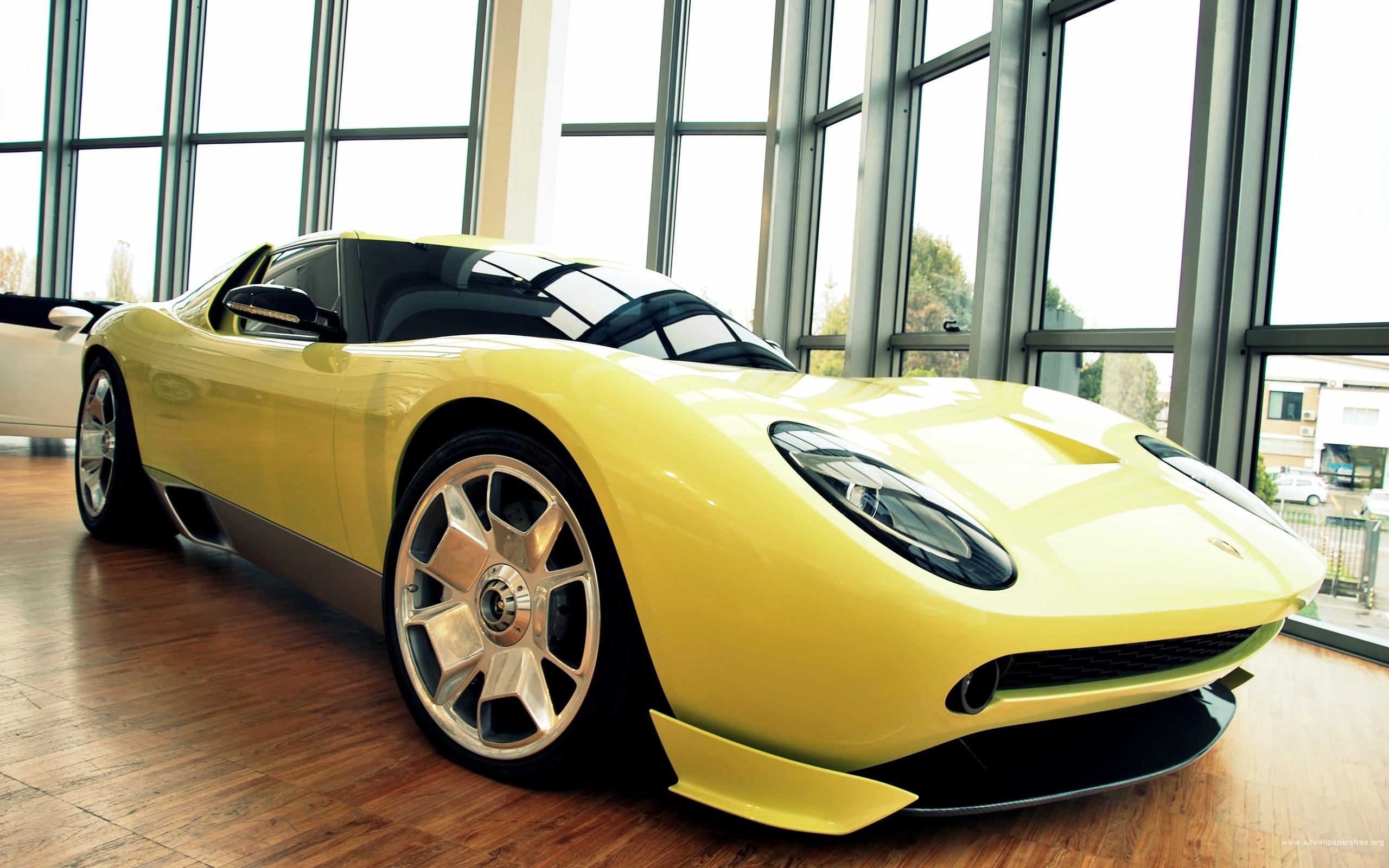 Wallpaper 2560x1600 Px Car Lamborghini Miura Yellow Cars