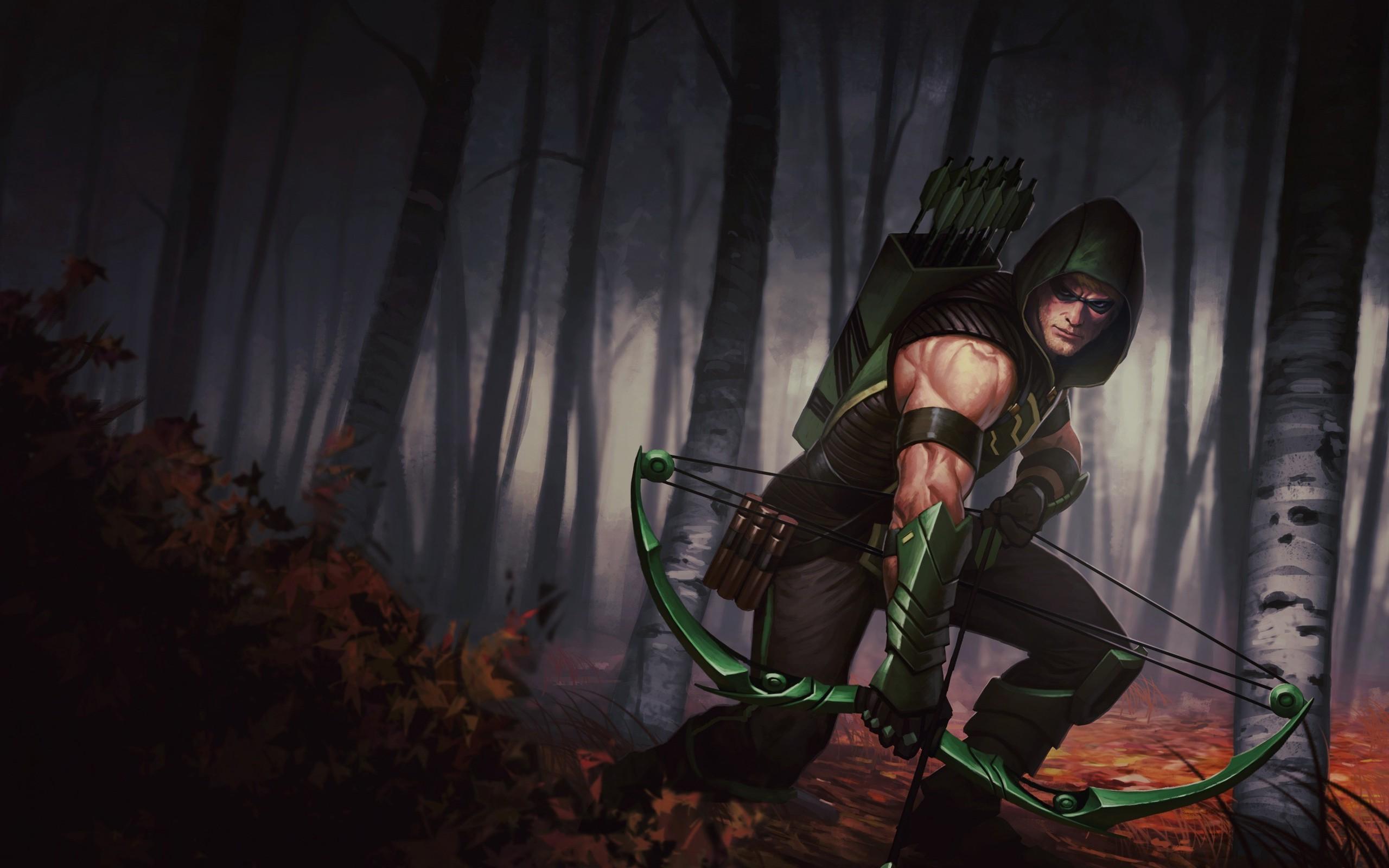 2560x1600 Px Comics DC Green Arrow Illustration Oliver Queen