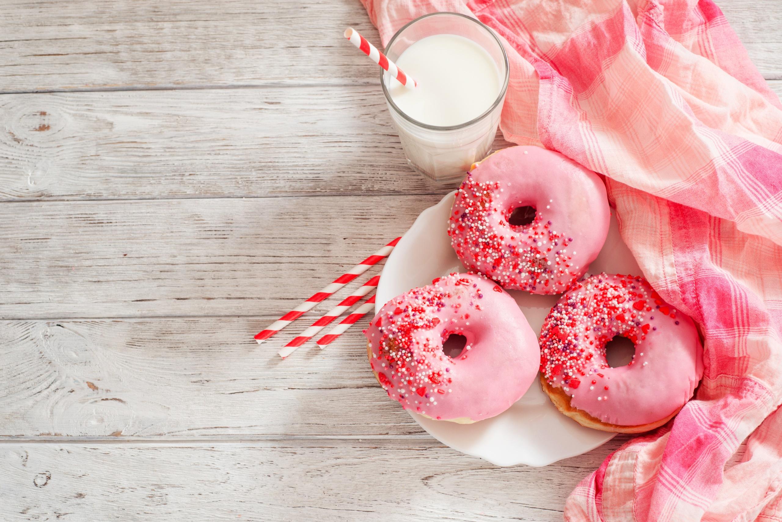 розовый картинки с едой гости для