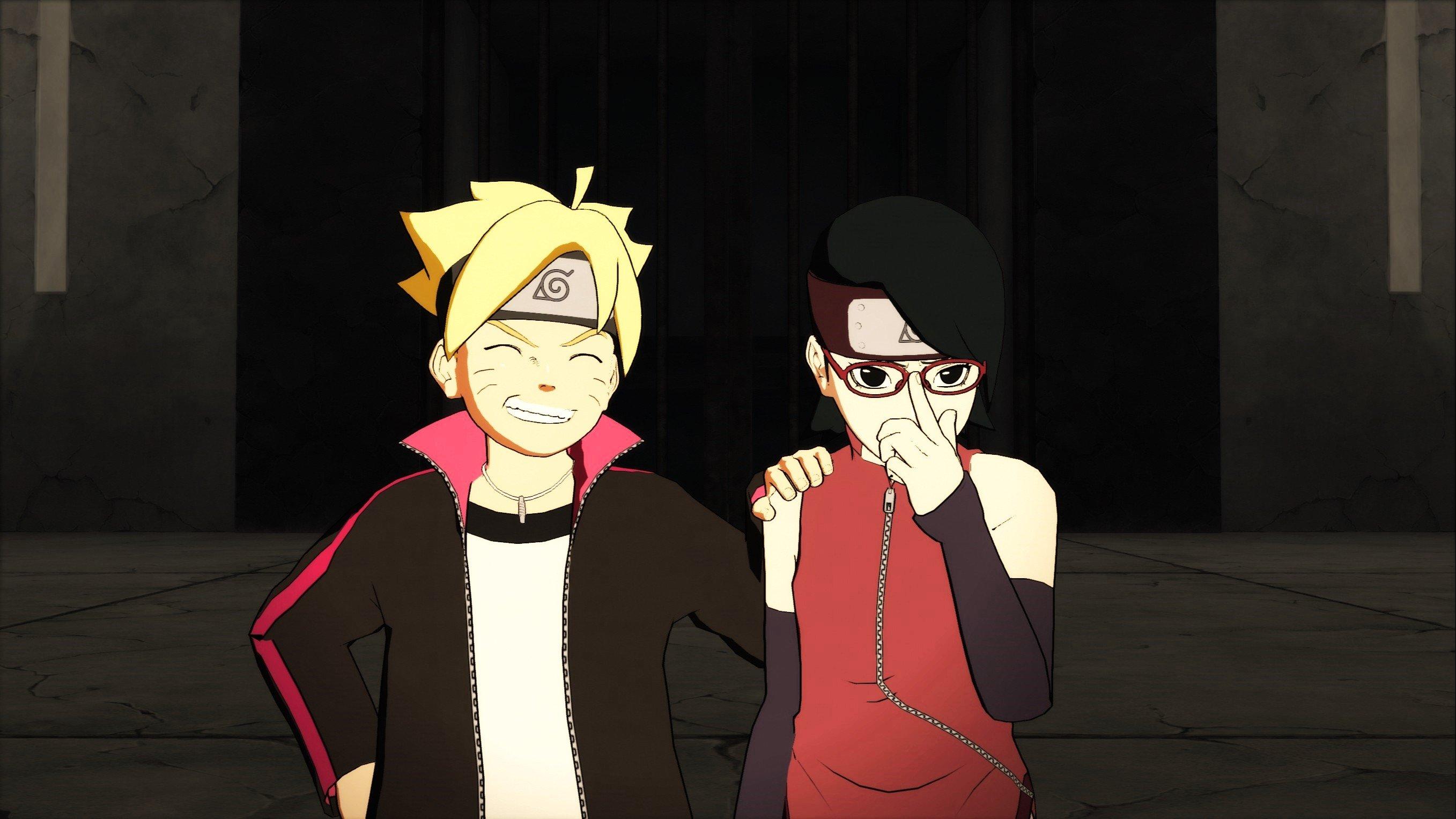 2715x1527 Px Naruto Shippuden Ultimate Ninja Storm 4 Sarada Uchiha Uzumaki Boruto