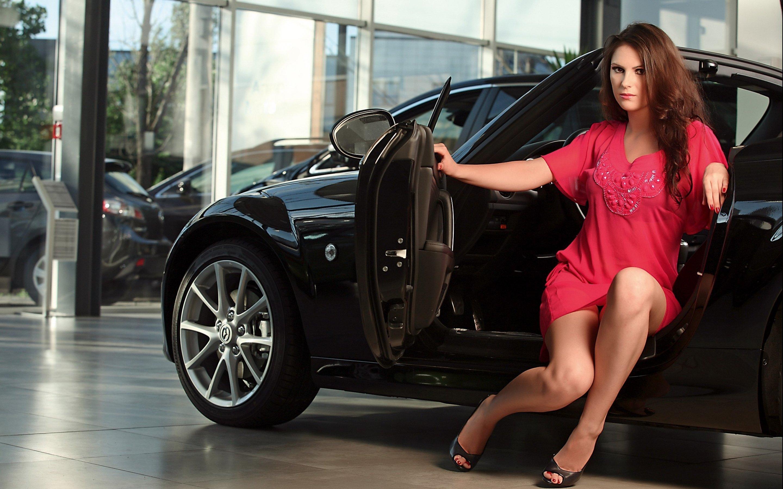 Model women woman models female girl girls car cars style