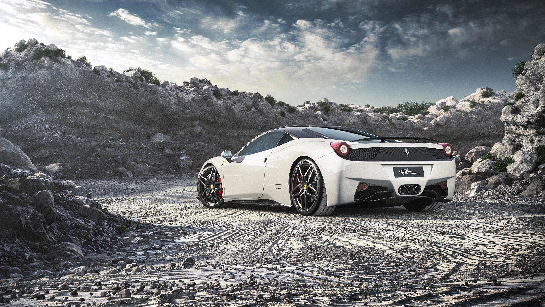 Wallpaper 3000x1688 Px Car Ferrari 458 Italia 3000x1688
