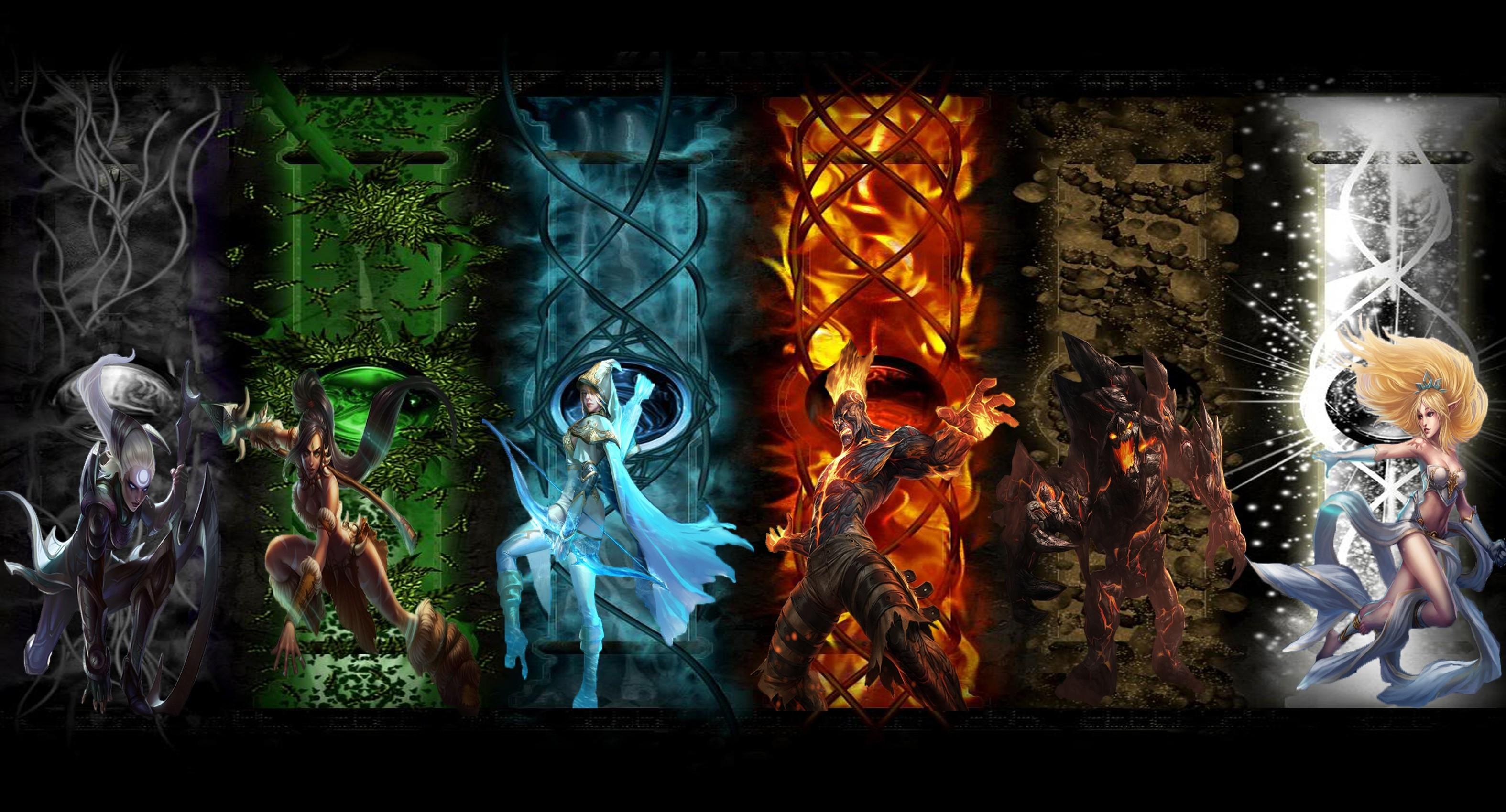 wallpaper 3150x1700 px ashe brand lol diana heroes janna