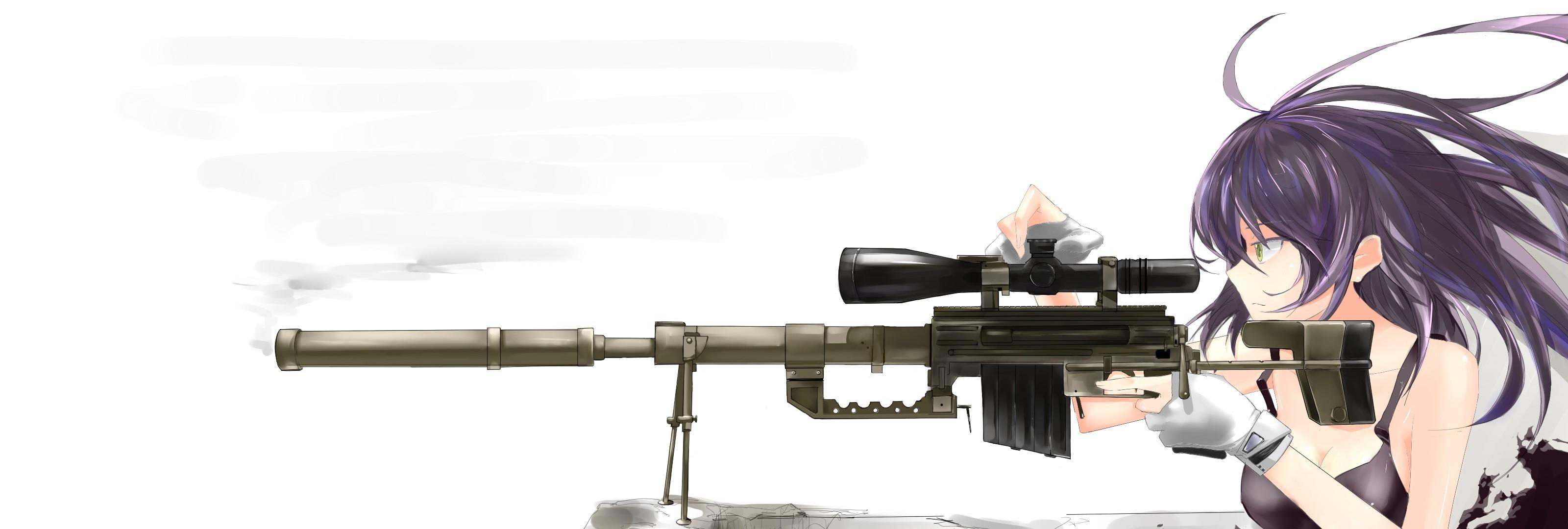 3200x1080 Px Sniper Rifle