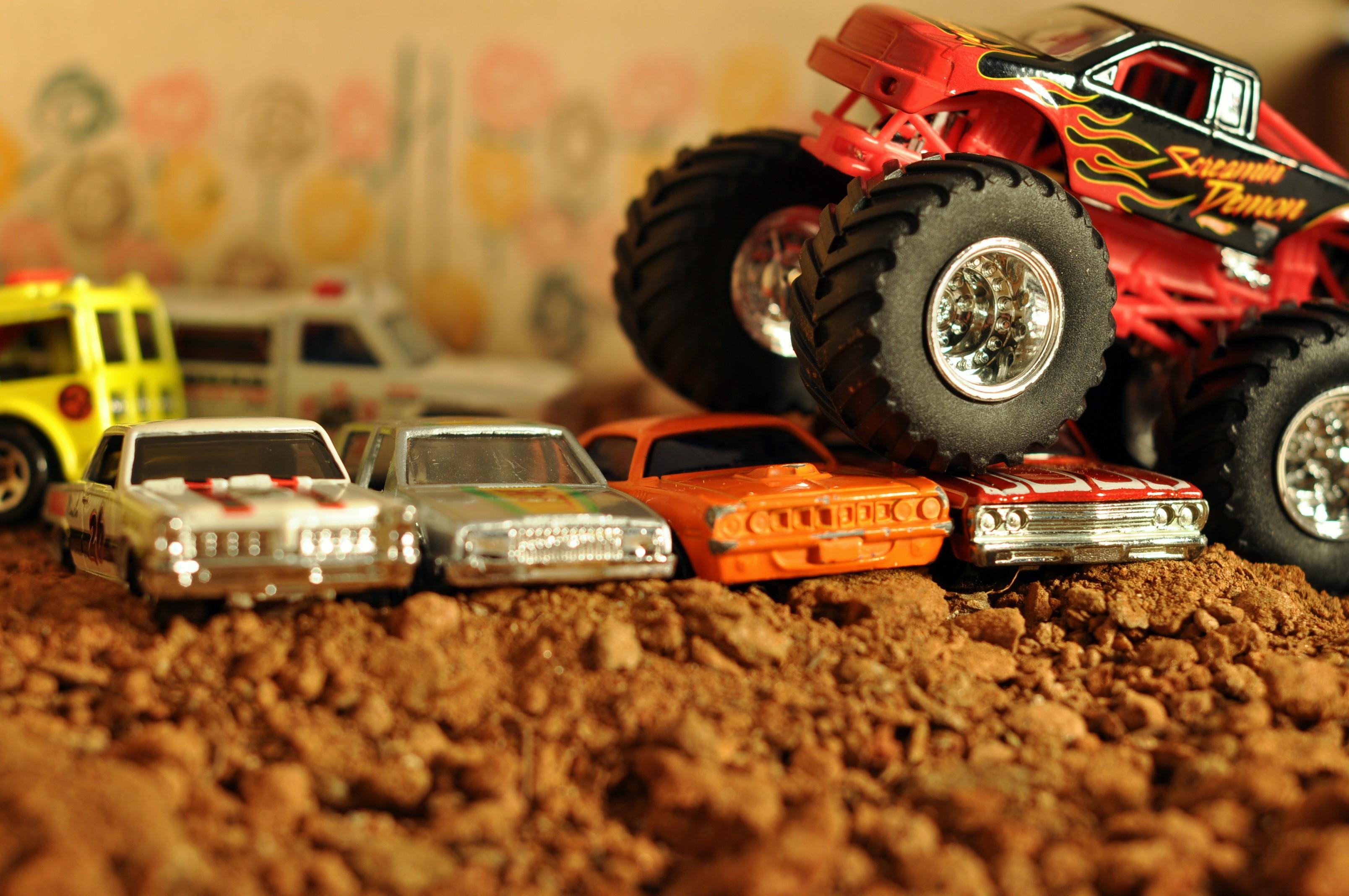 Wallpaper 3216x2136 Px Car Monster Trucks Toys 3216x2136