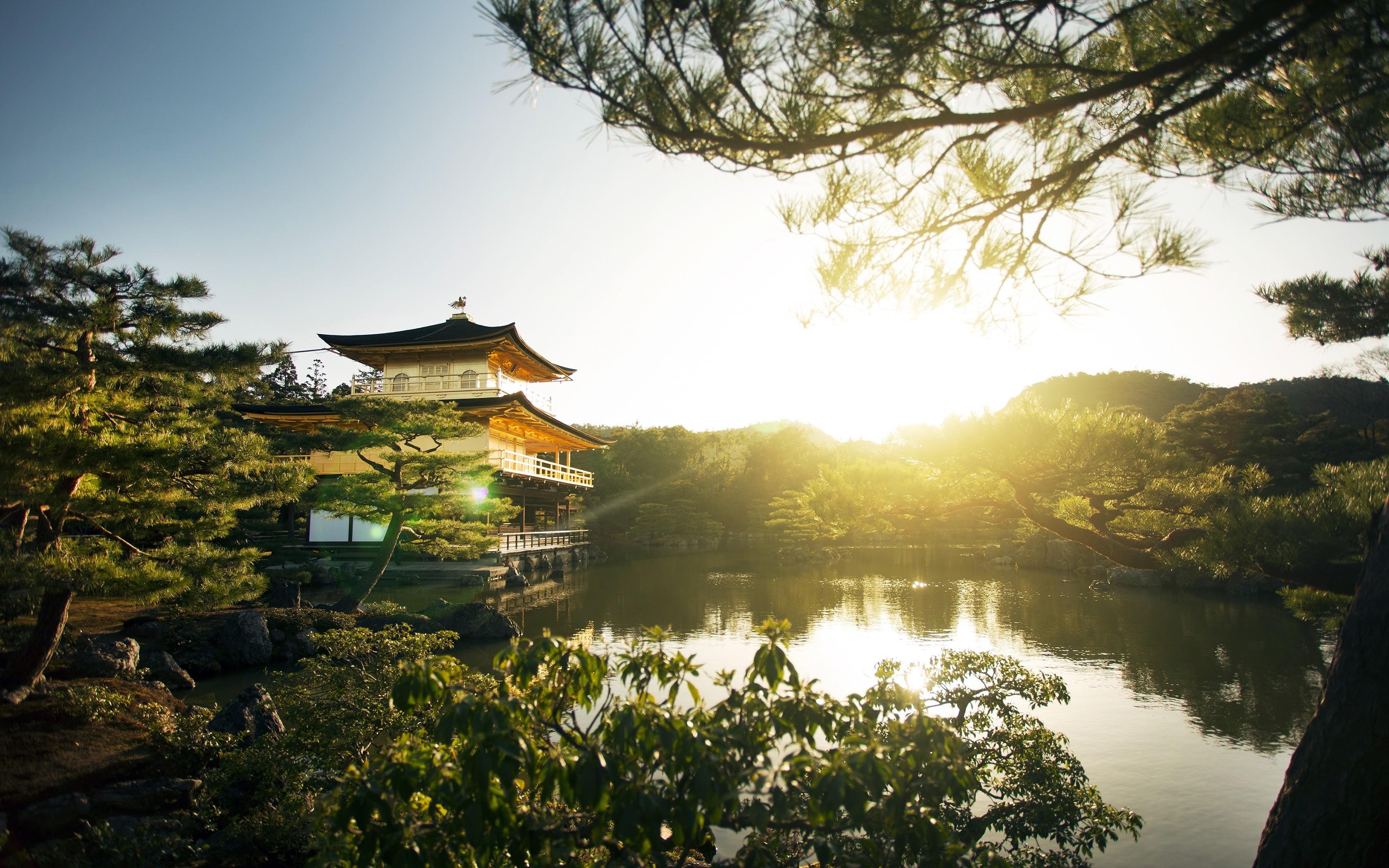 фото японских пейзажей неправильного строения