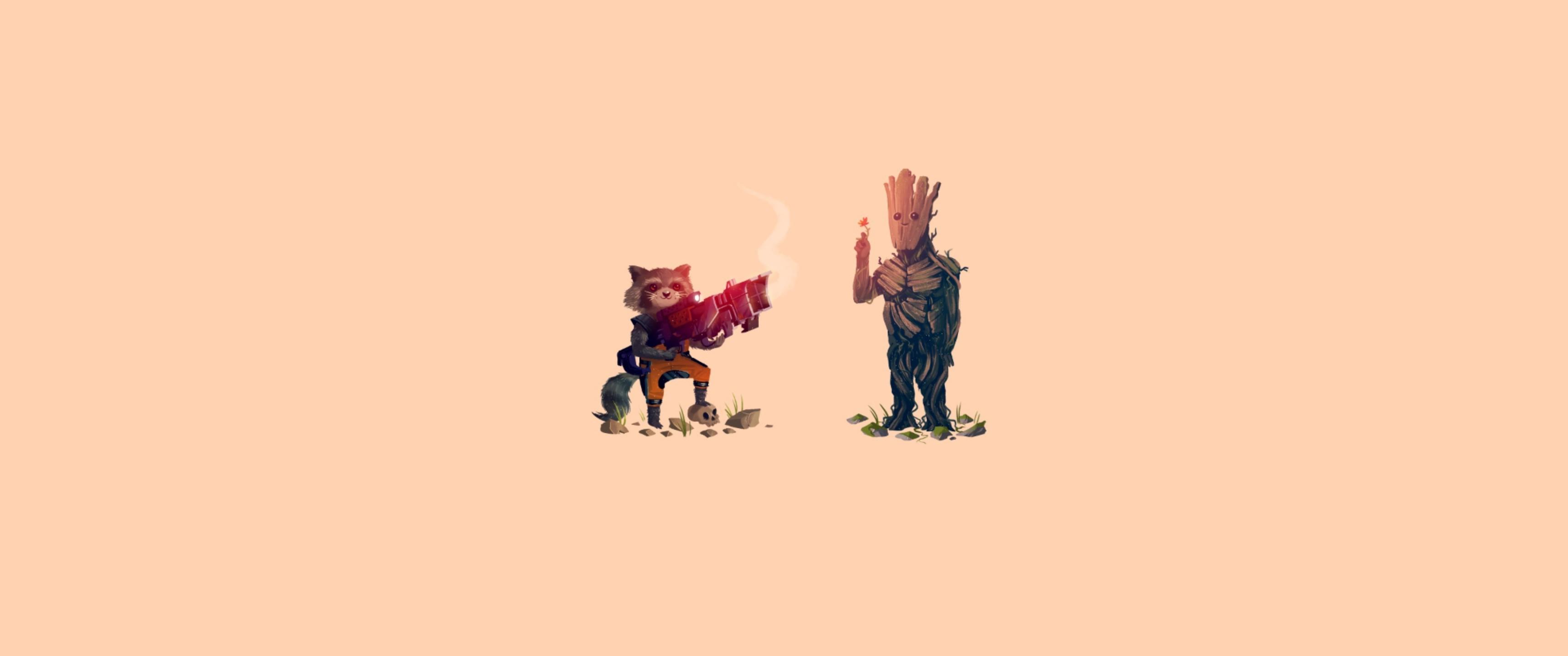3440x1440 Px Groot Guardians Of The Galaxy Rocket Raccoon