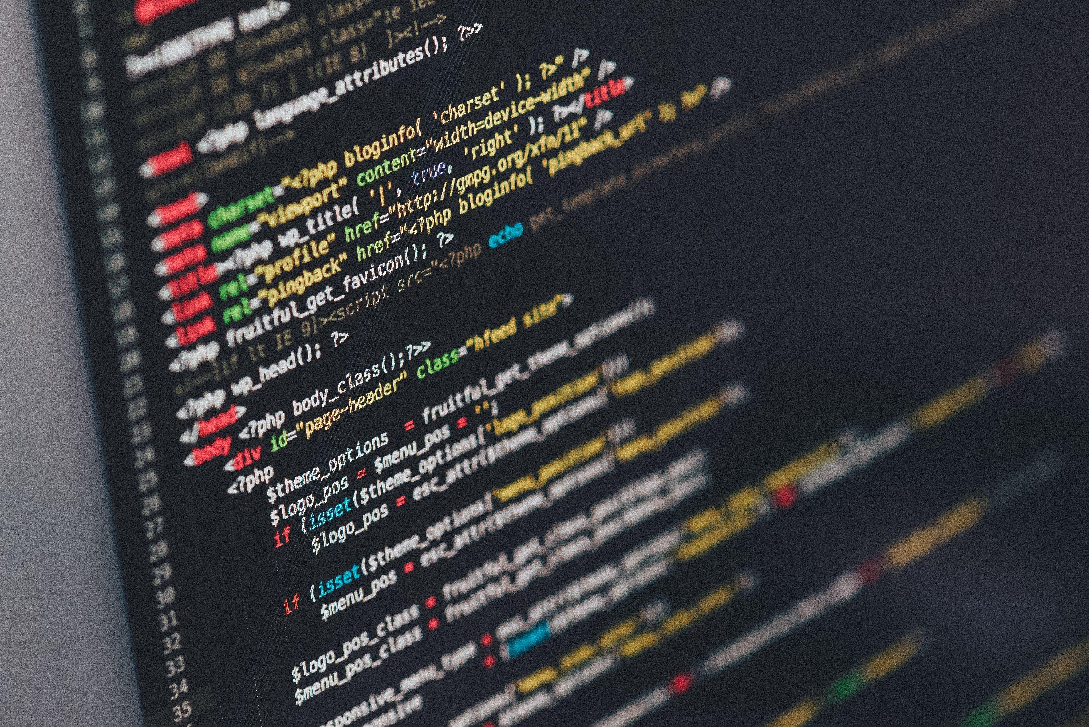 3543x2365 Px Code Coding HTML Ilya Pavlov PHP Wordpress