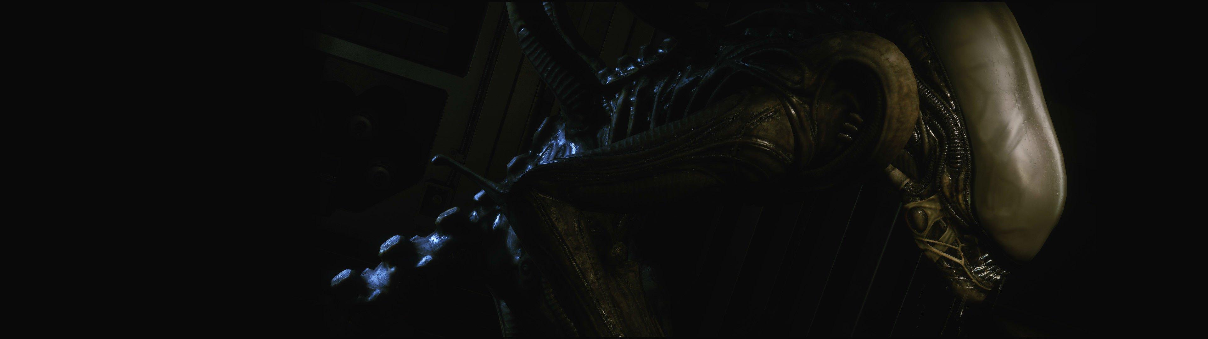 Wallpaper 3840x1080 Px Alien Aliens Creature Dark Extra Fi Futuristic Horror Monster Sci Science Terrestrial 3840x1080 Goodfon 1730443 Hd Wallpapers Wallhere