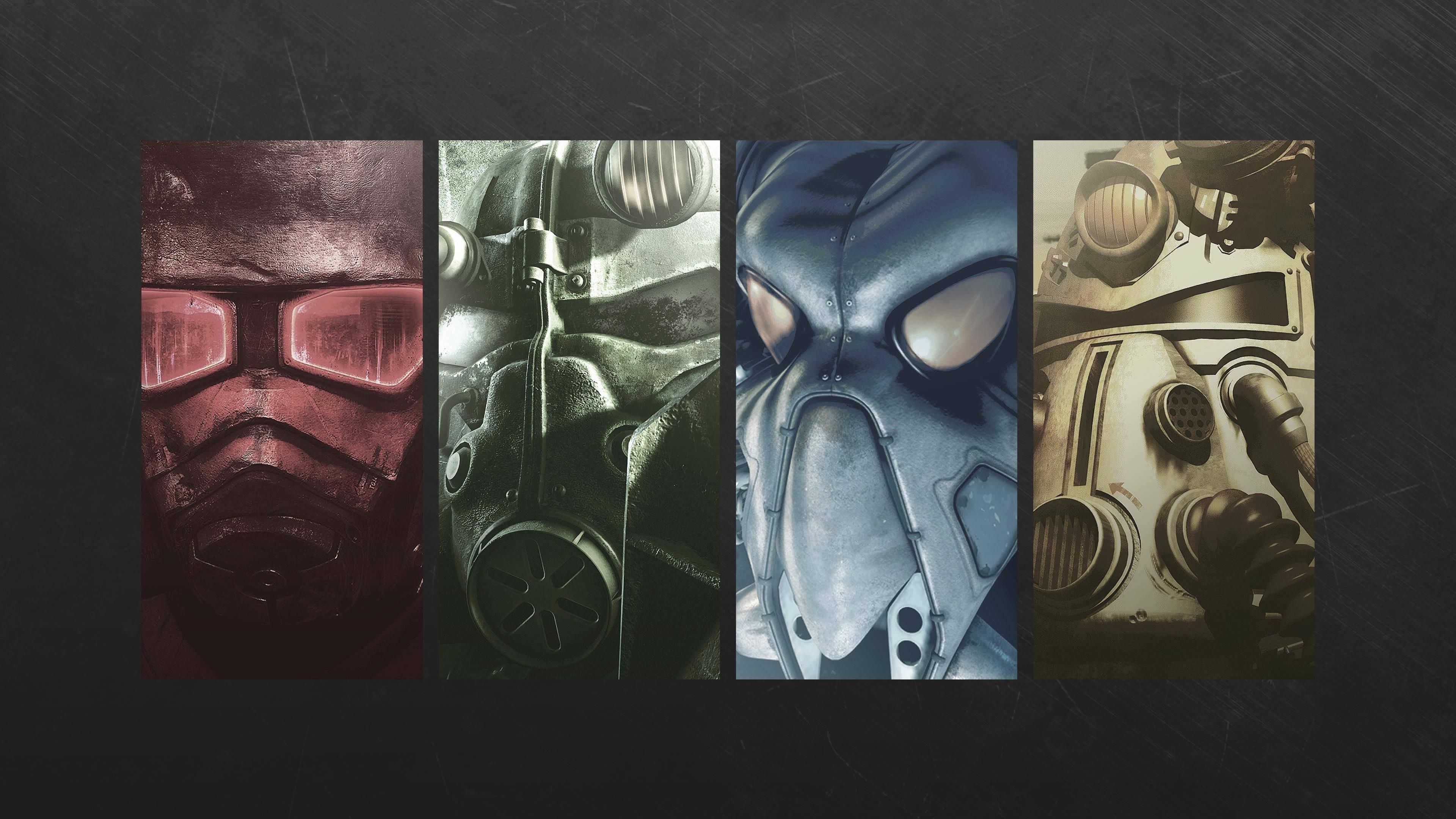 3840x2160 Px Fallout 2 3 New Vegas Video Games