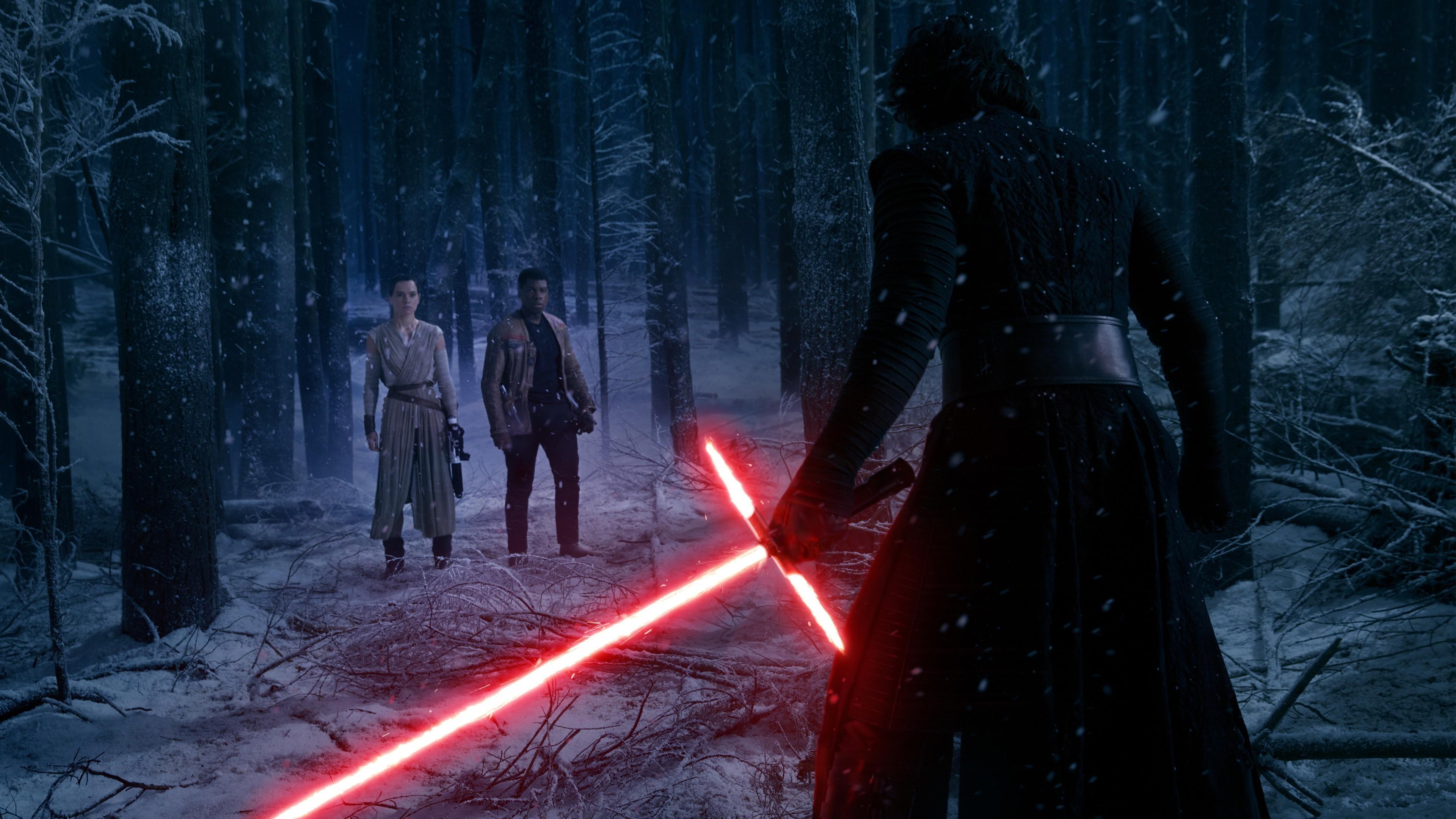 Wallpaper 3840x2160 Px Kylo Ren Star Wars The Force Awakens