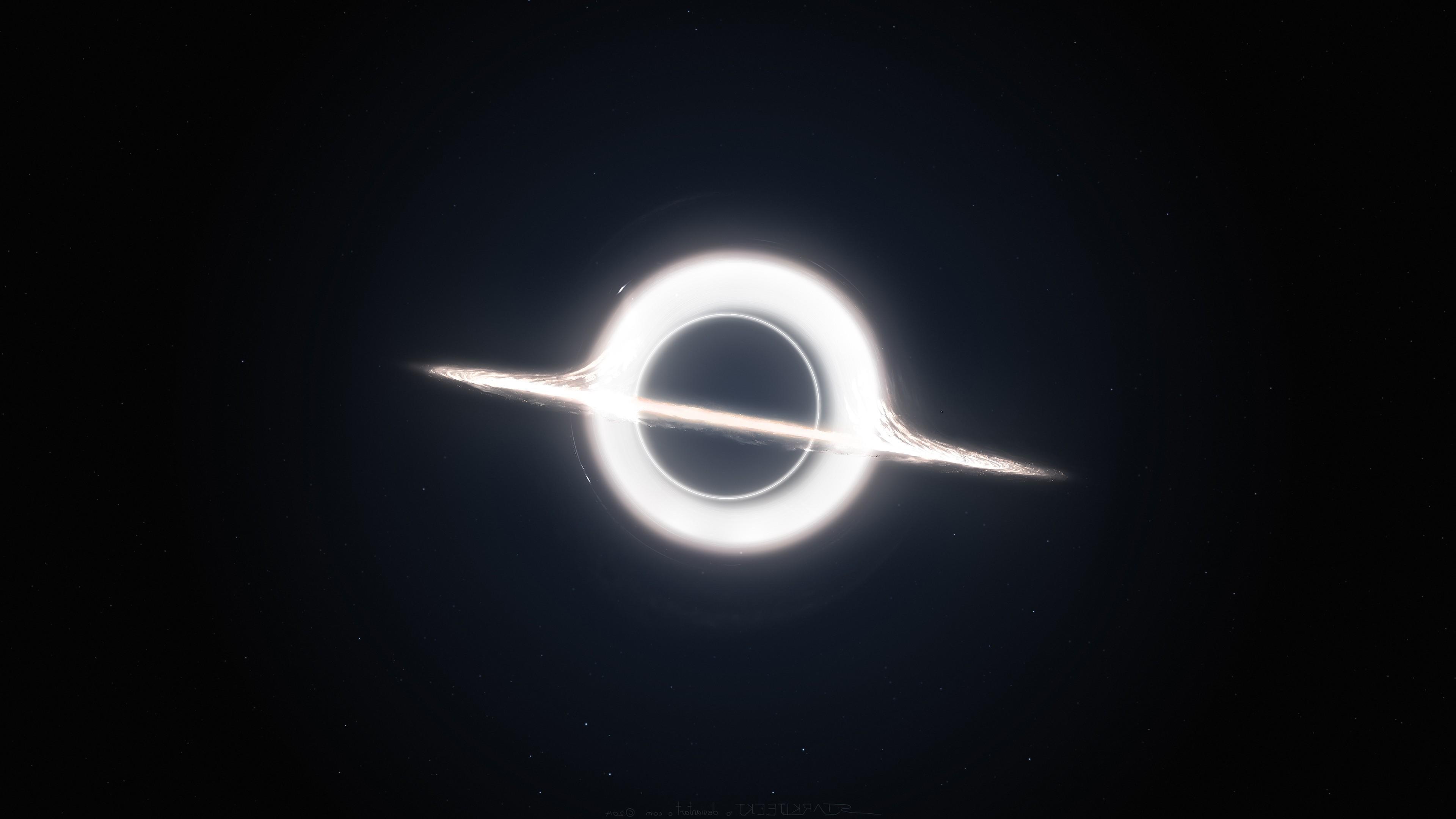 Wallpaper 3840x2160 Px Black Holes Dark Interstellar
