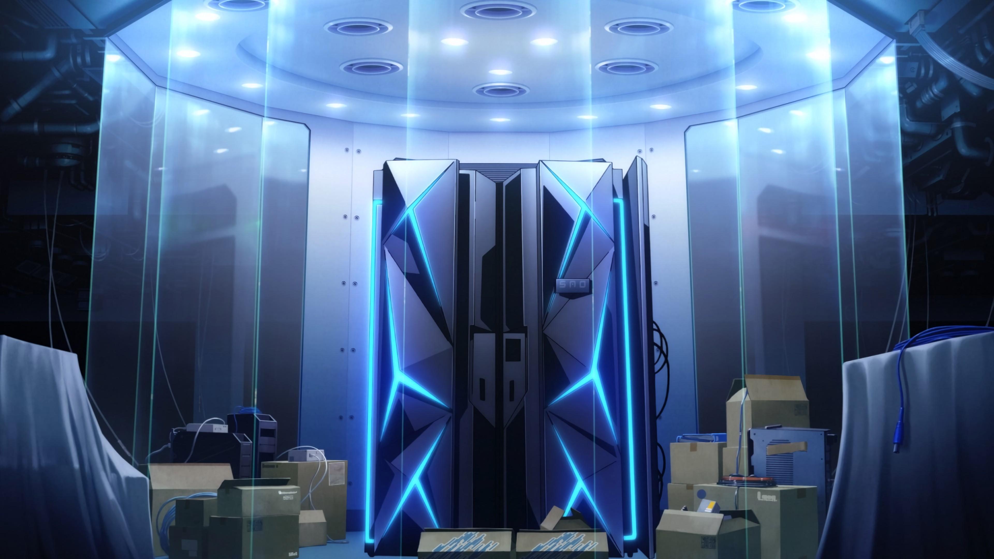 デスクトップ壁紙 3840x2160 Px ボックス 未来 ガラス Ibm
