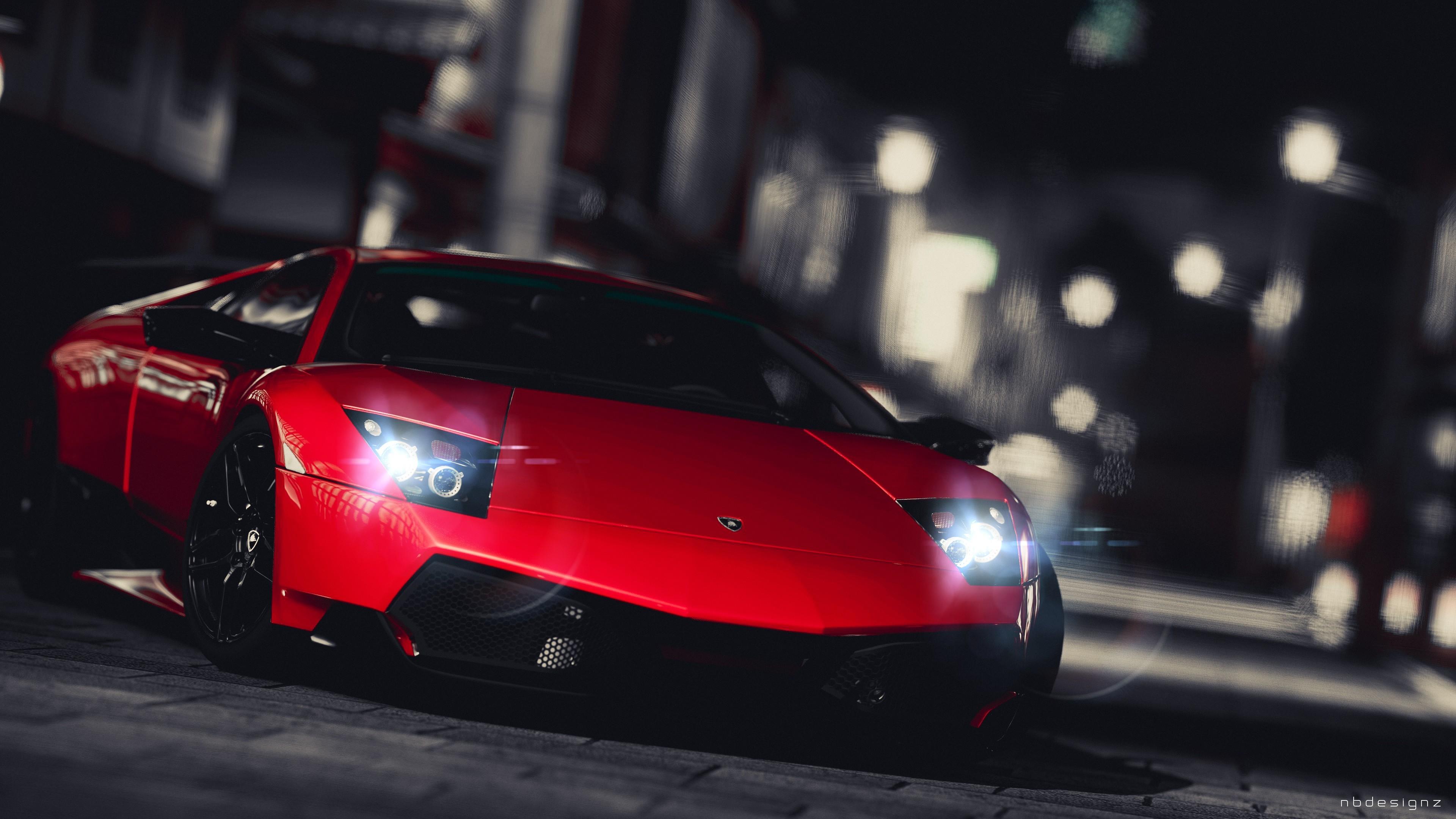 Wallpaper 3840x2160 Px Car Gran Turismo 5 Lamborghini