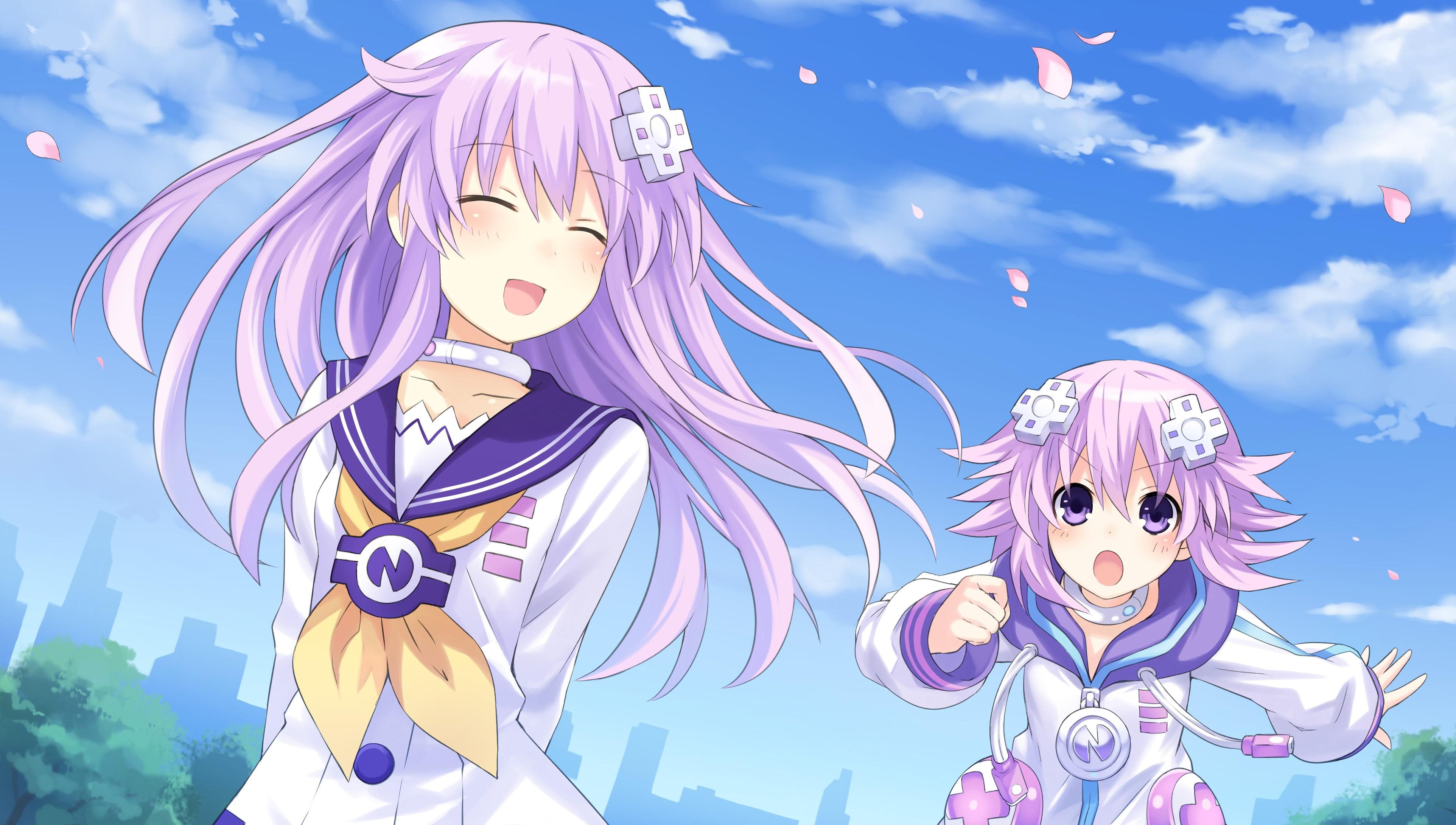 3935x2213 px Anime Girls Hyperdimension Neptunia Ram
