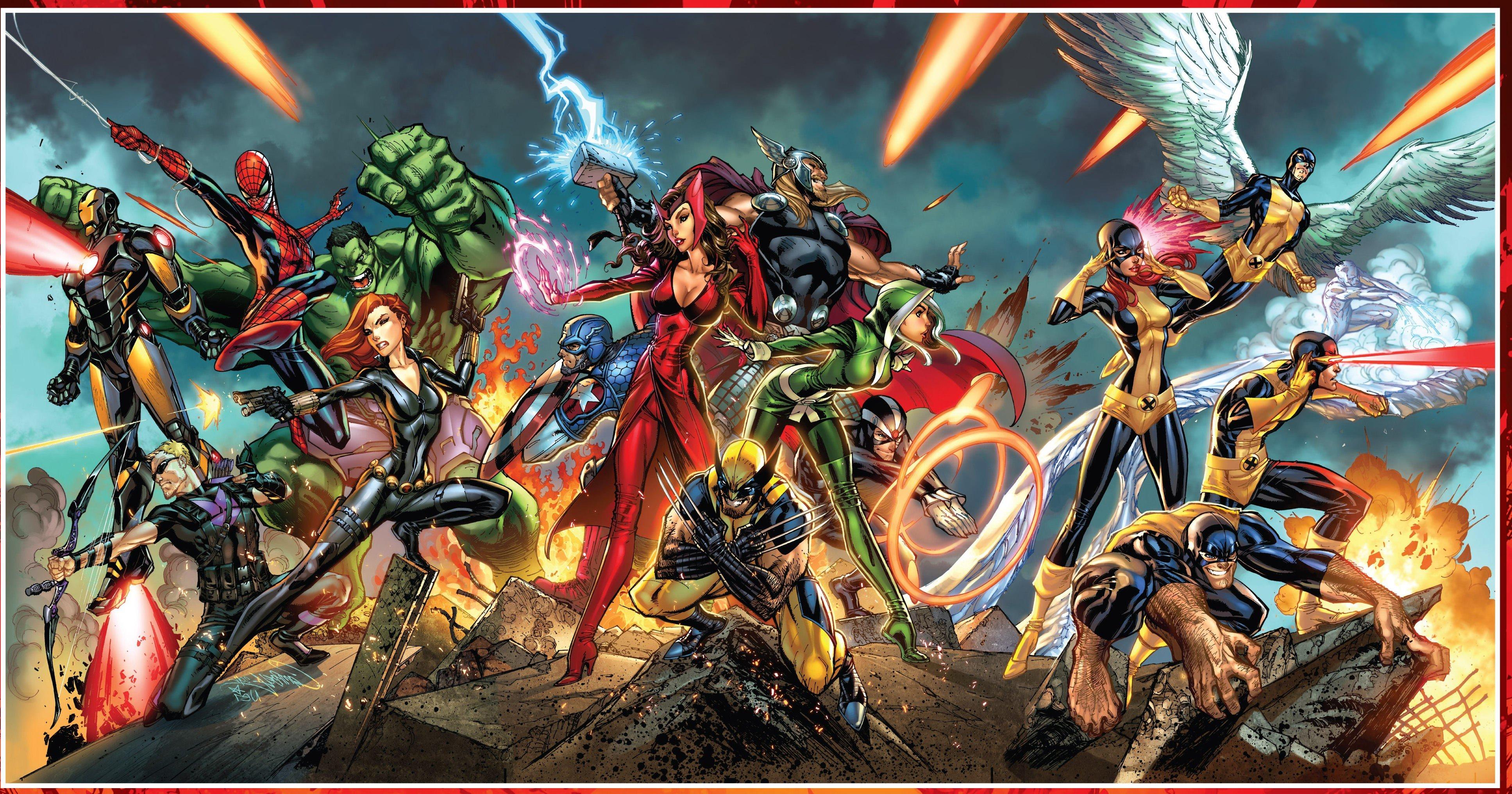 Wallpaper 3870x2031 Px Action Adventure Comics Fantasy Fi