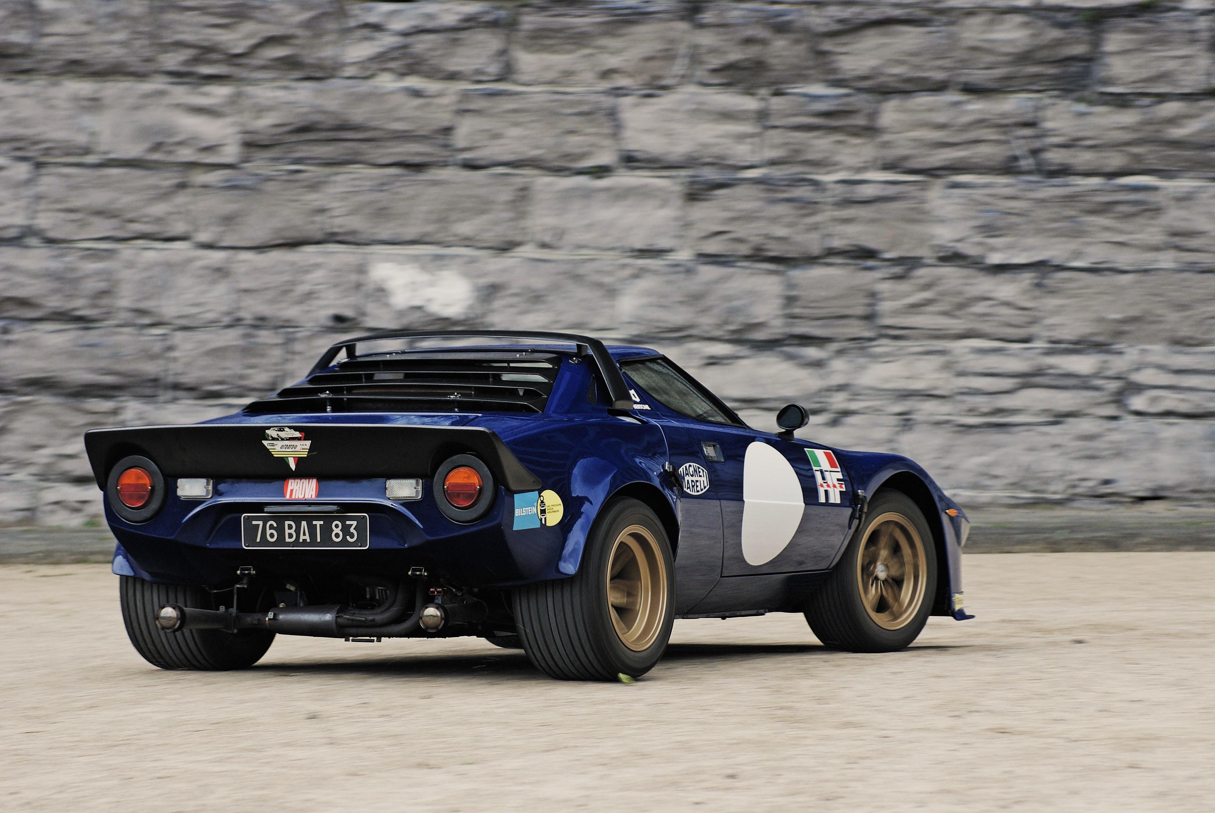 Wallpaper 3872x2592 Px Classic Car Lancia Stratos Rally Cars