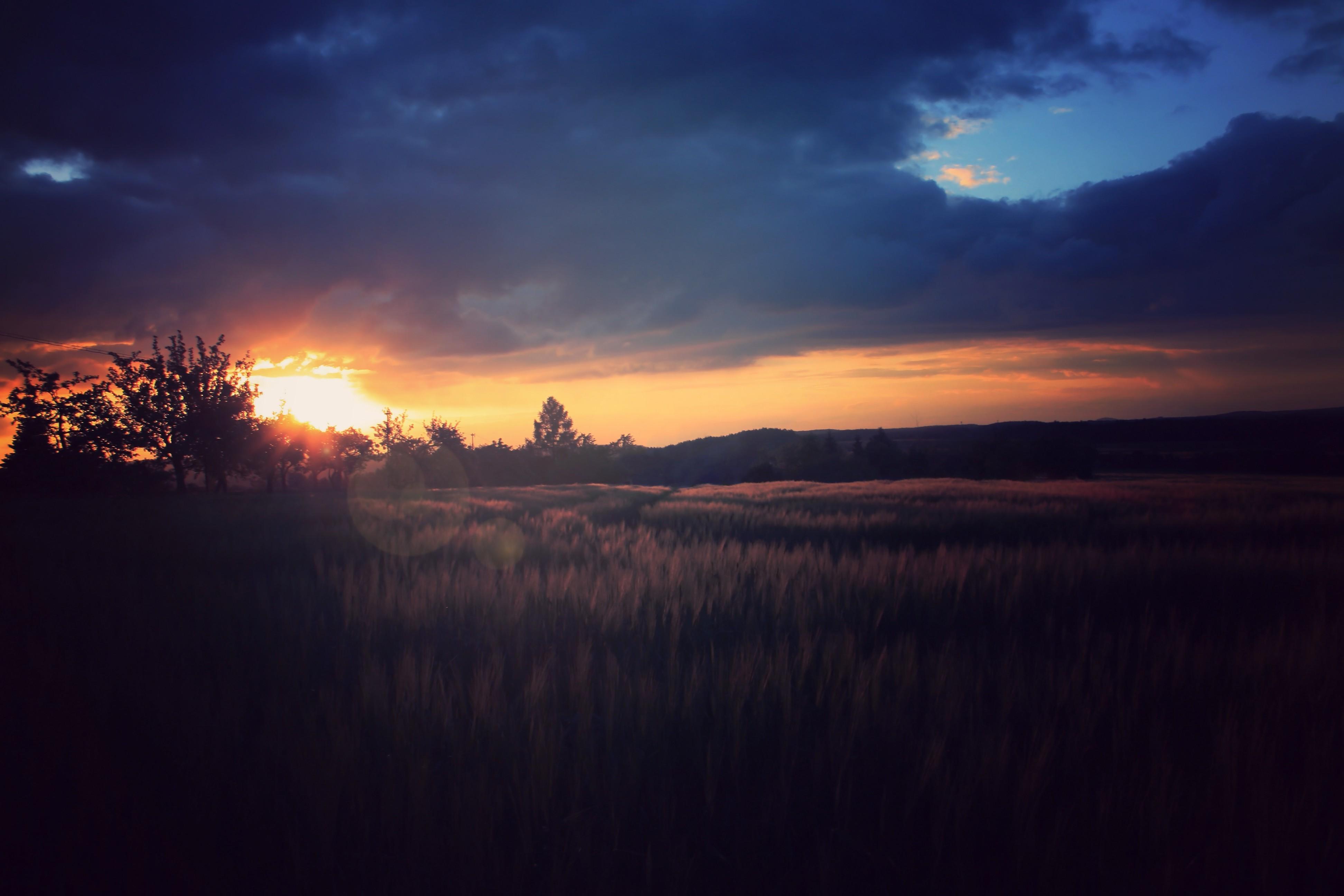 Wallpaper : 3888x2592 Px, Nature, Night, Sunset 3888x2592