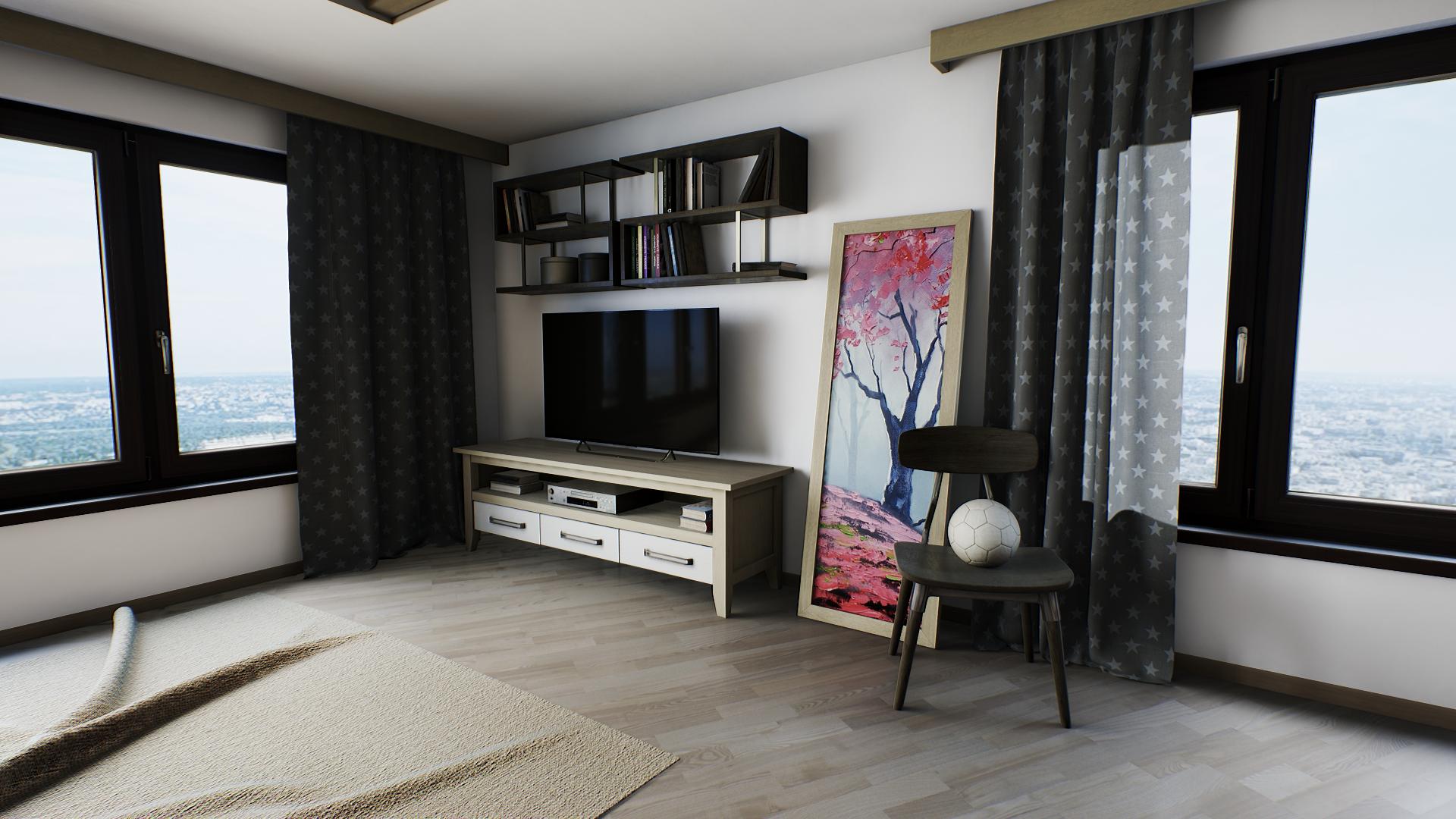 Sfondi 3d camera casa camera da letto interior for Nuove case con suite suocera