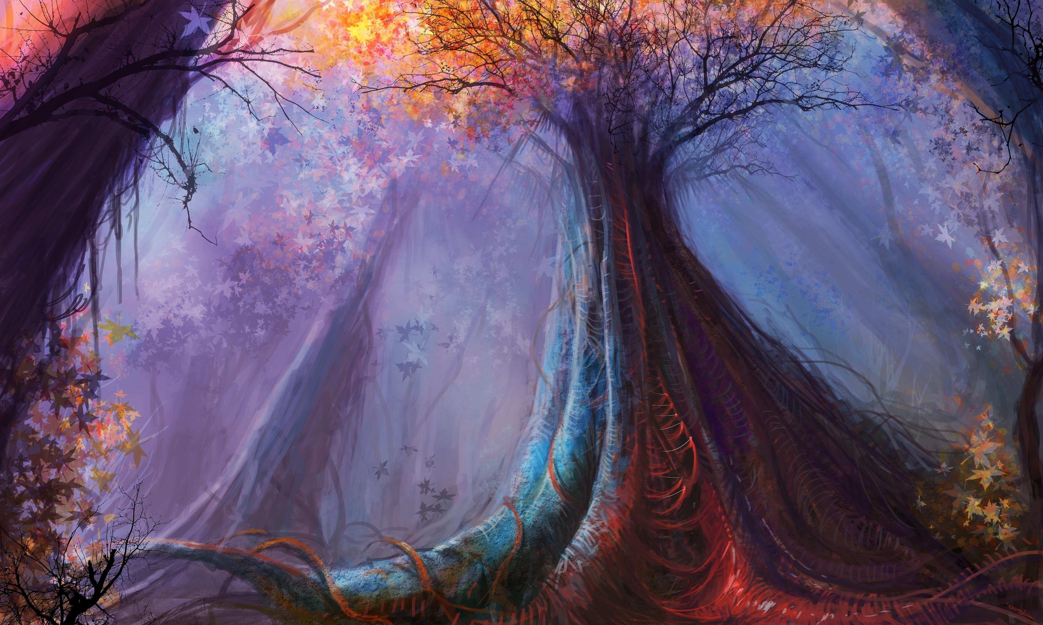 ответ фэнтези лес рисунок фордайса