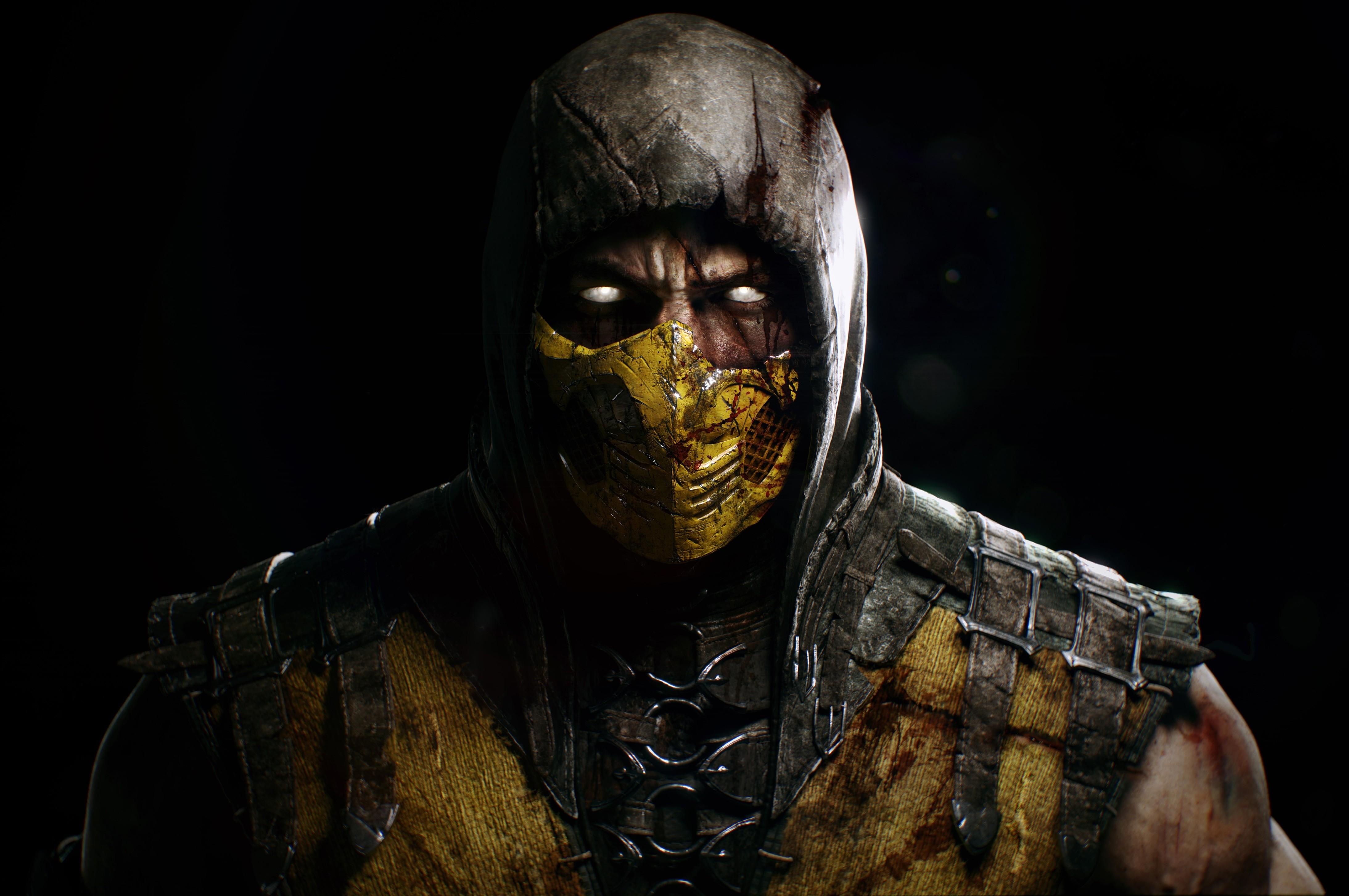 Hintergrundbilder 4375x2906 Px Gesicht Mortal Kombat X