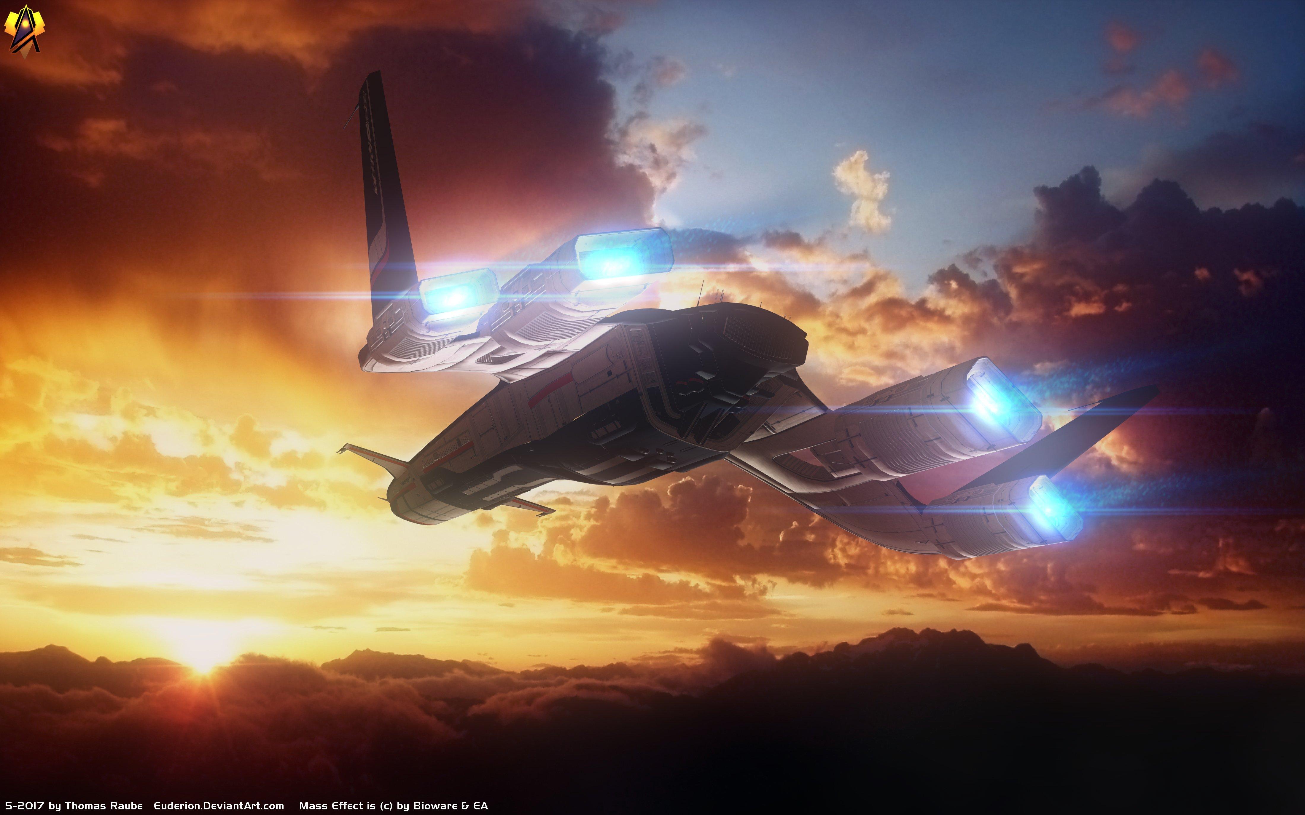 Wallpaper 4400x2750 Px Andromeda Initiative Mass Effect