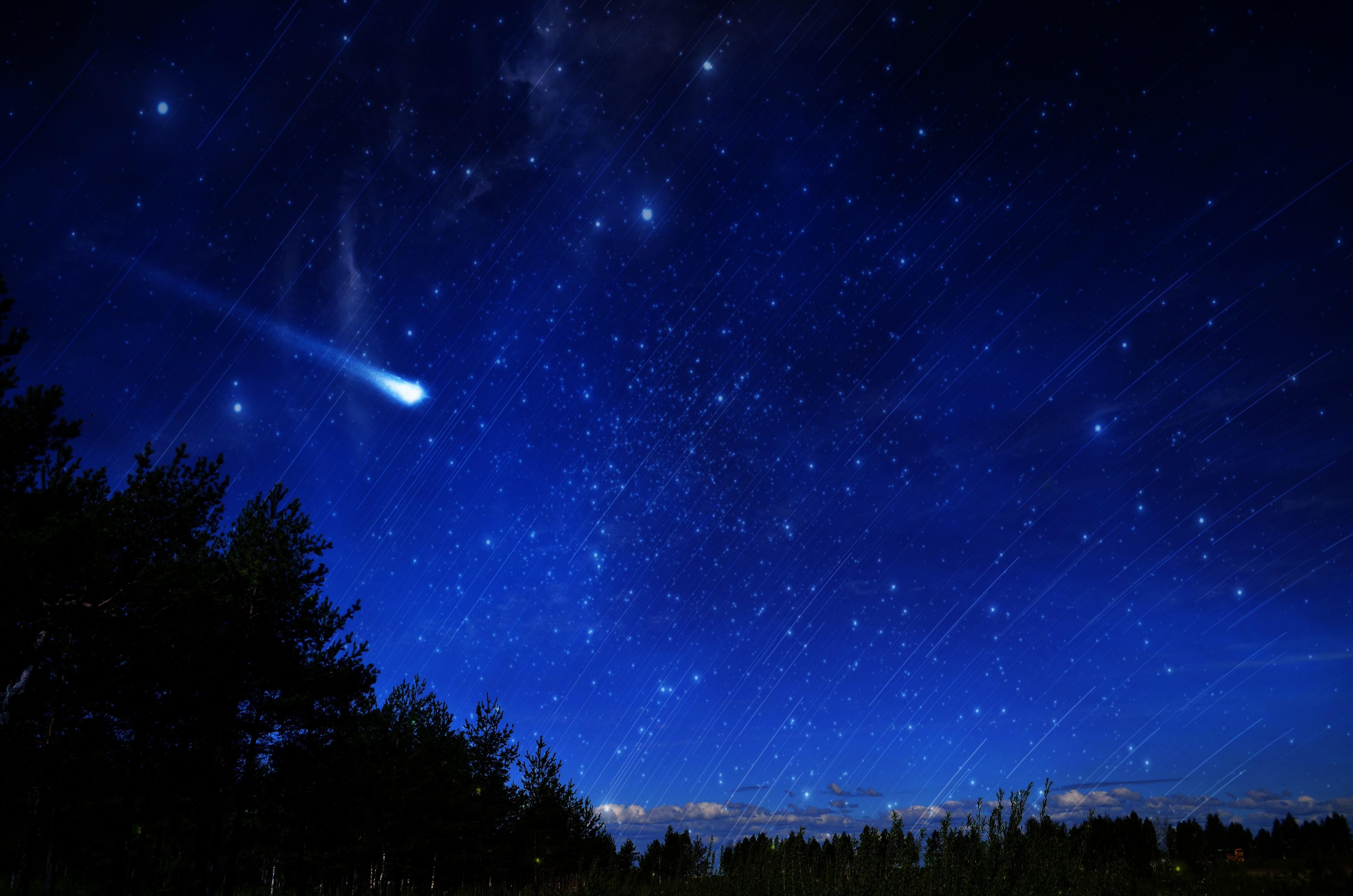 4928x3264 Px Comet Space Stars