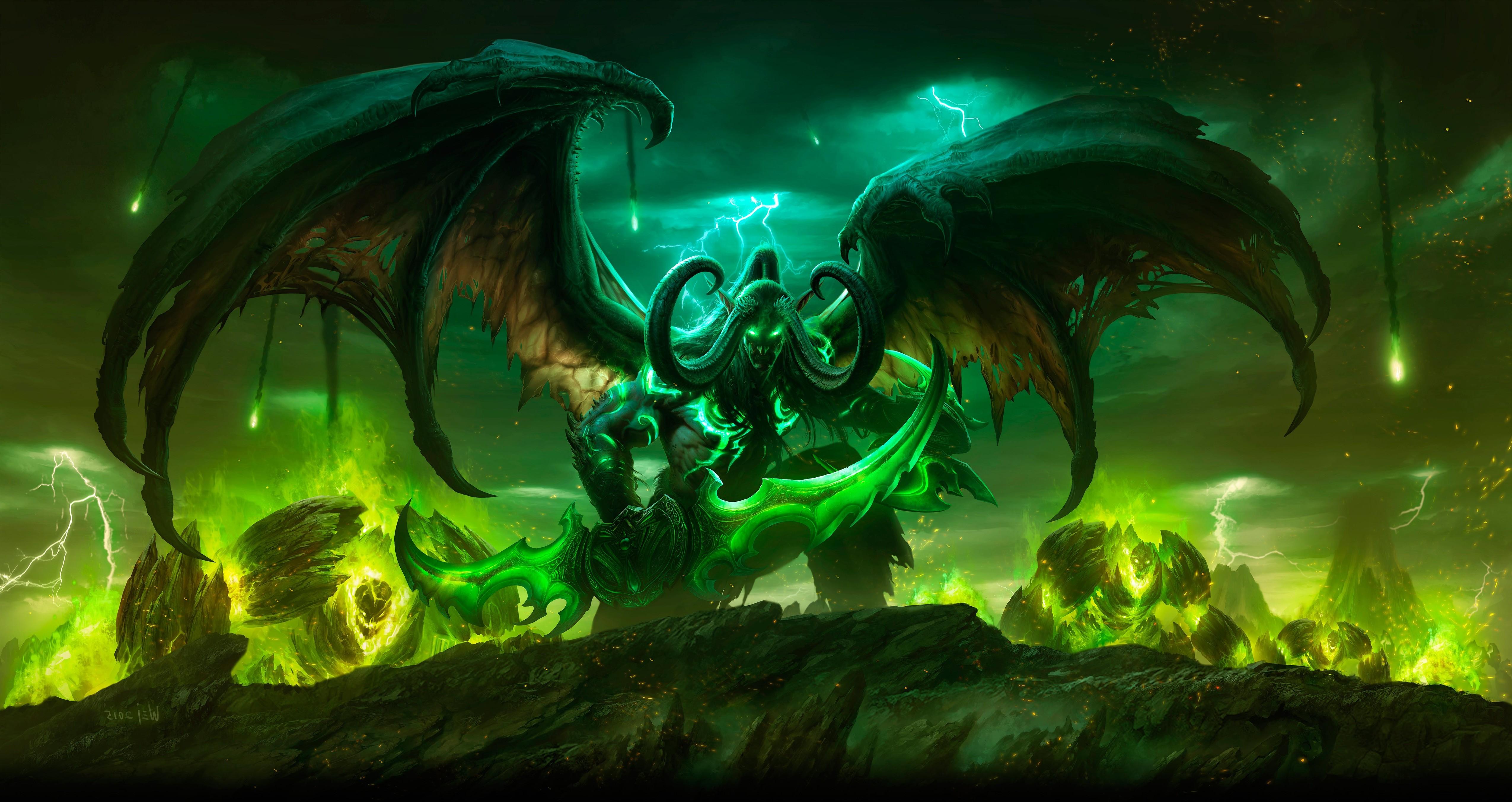 Wallpaper 5100x2705 Px World Of Warcraft Legion 5100x2705