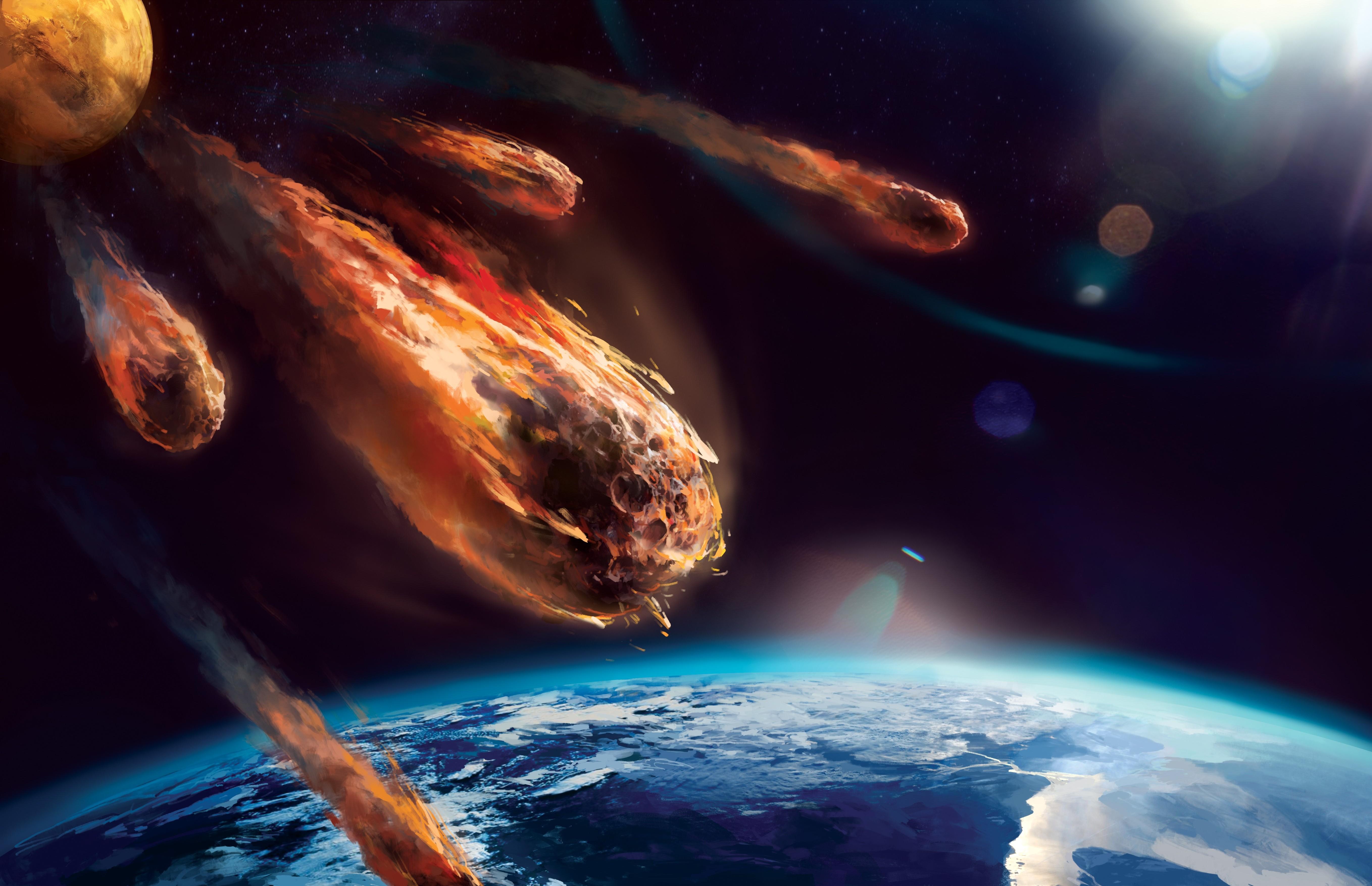 это метеоры в космосе картинки дневника