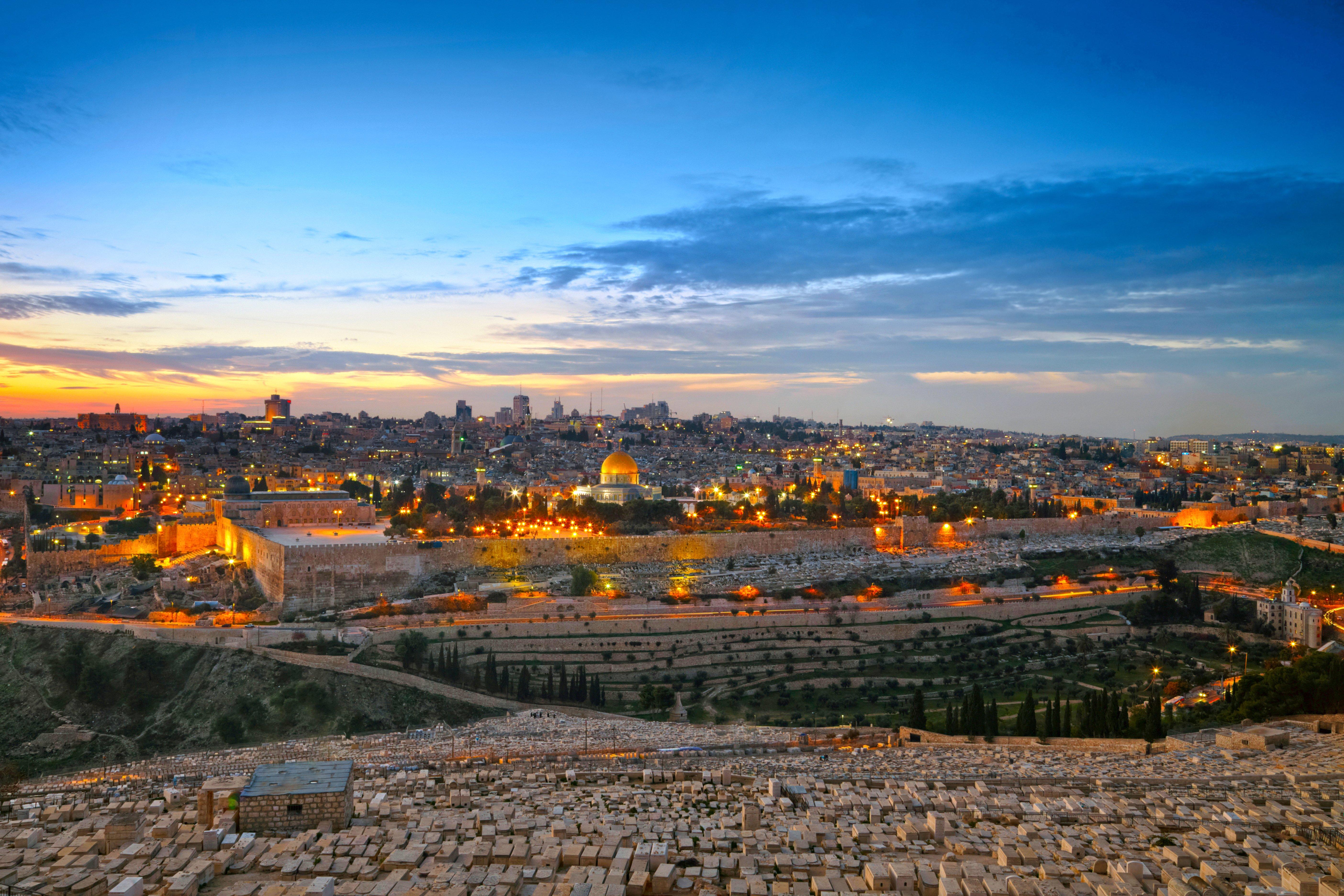 современные израиль город ночью фотографии что того