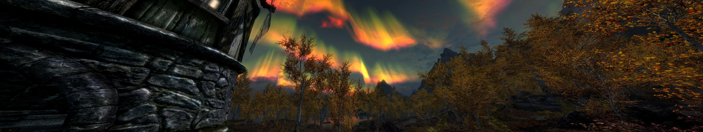 Wallpaper 5760x1080 Px Nvidia The Elder Scrolls V Skyrim