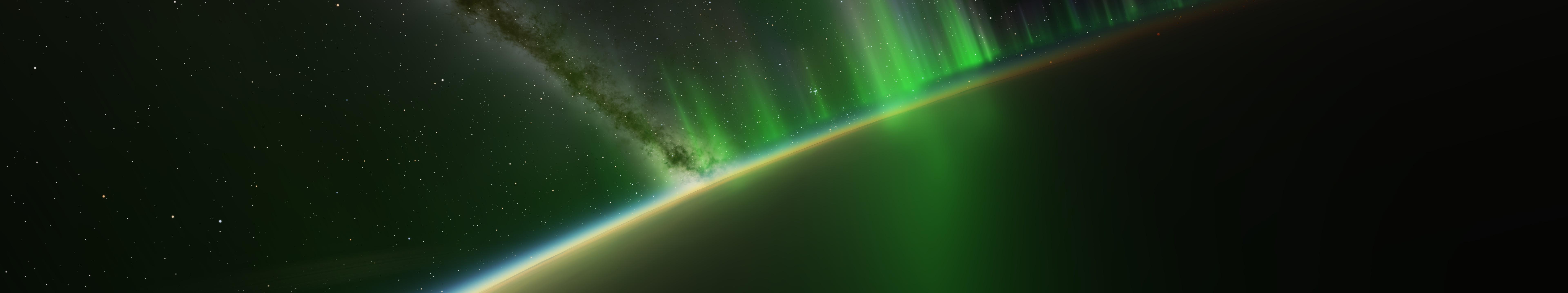 Wallpaper : 7680x1440 px, planet, space