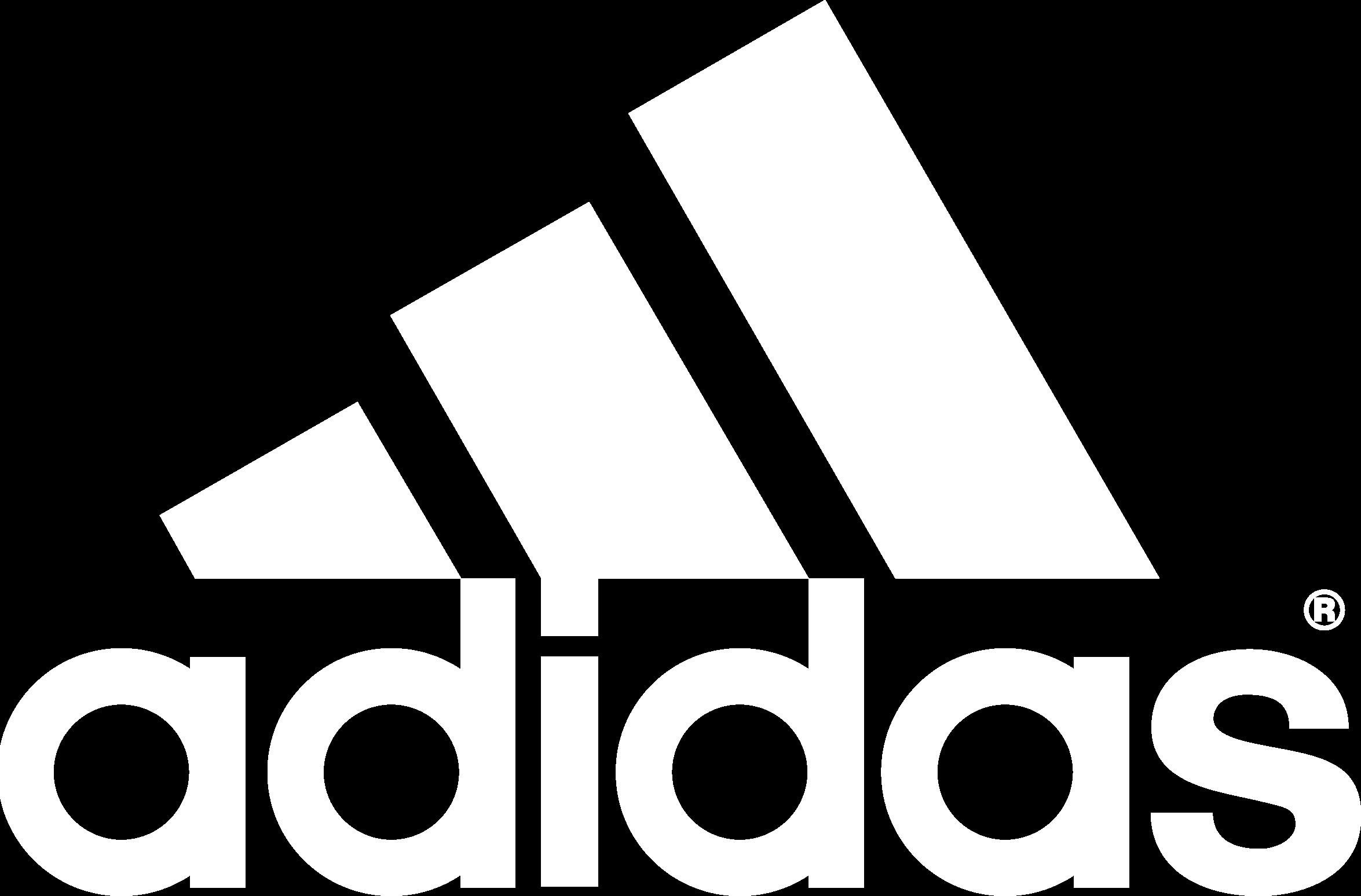 sfondo adidas bianco e nero