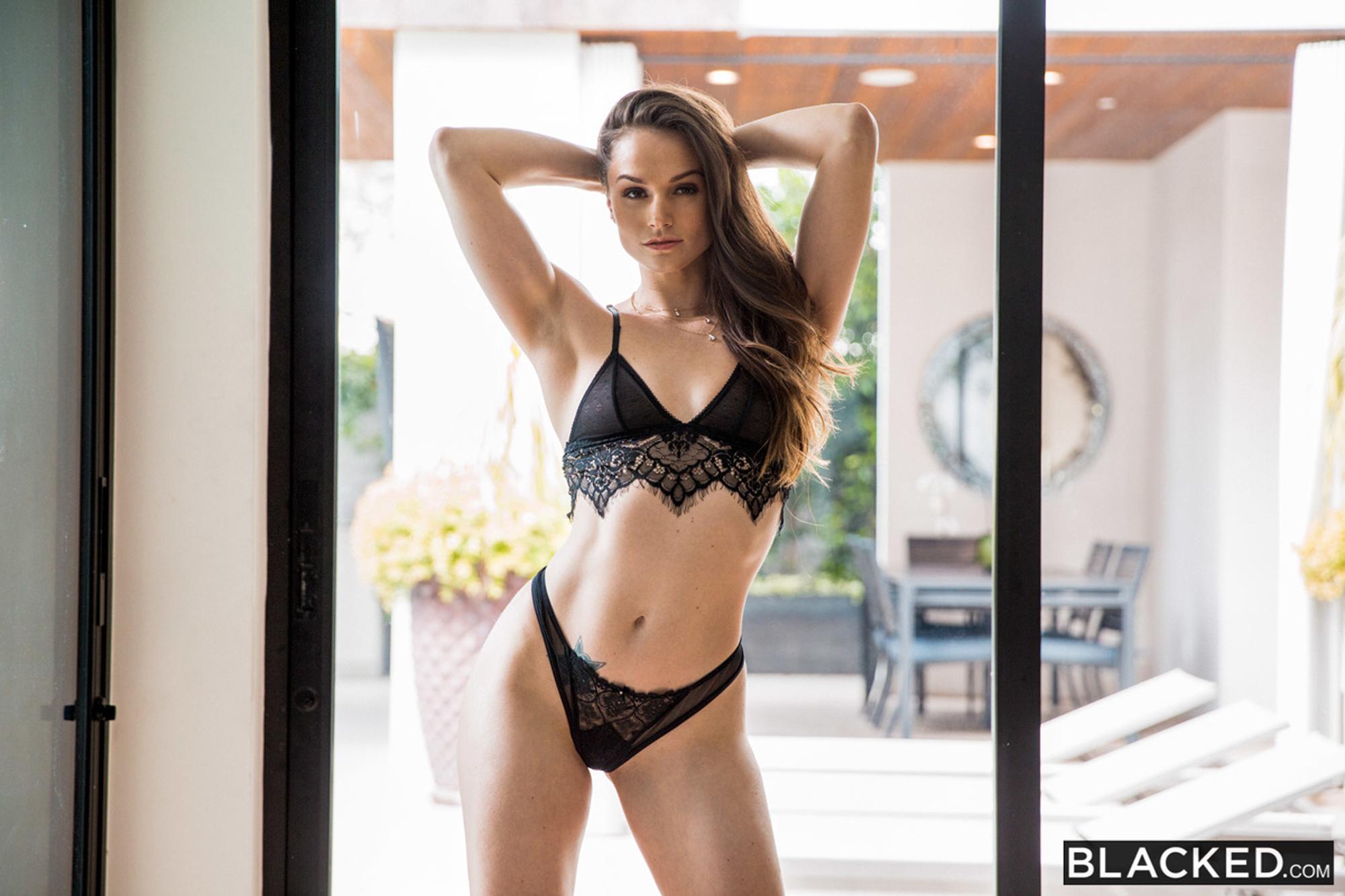 Adult Model Bikini Blacked Bra Cleavage Hot Legs Lingerie Pornstar Sexy Tori Black Underwear