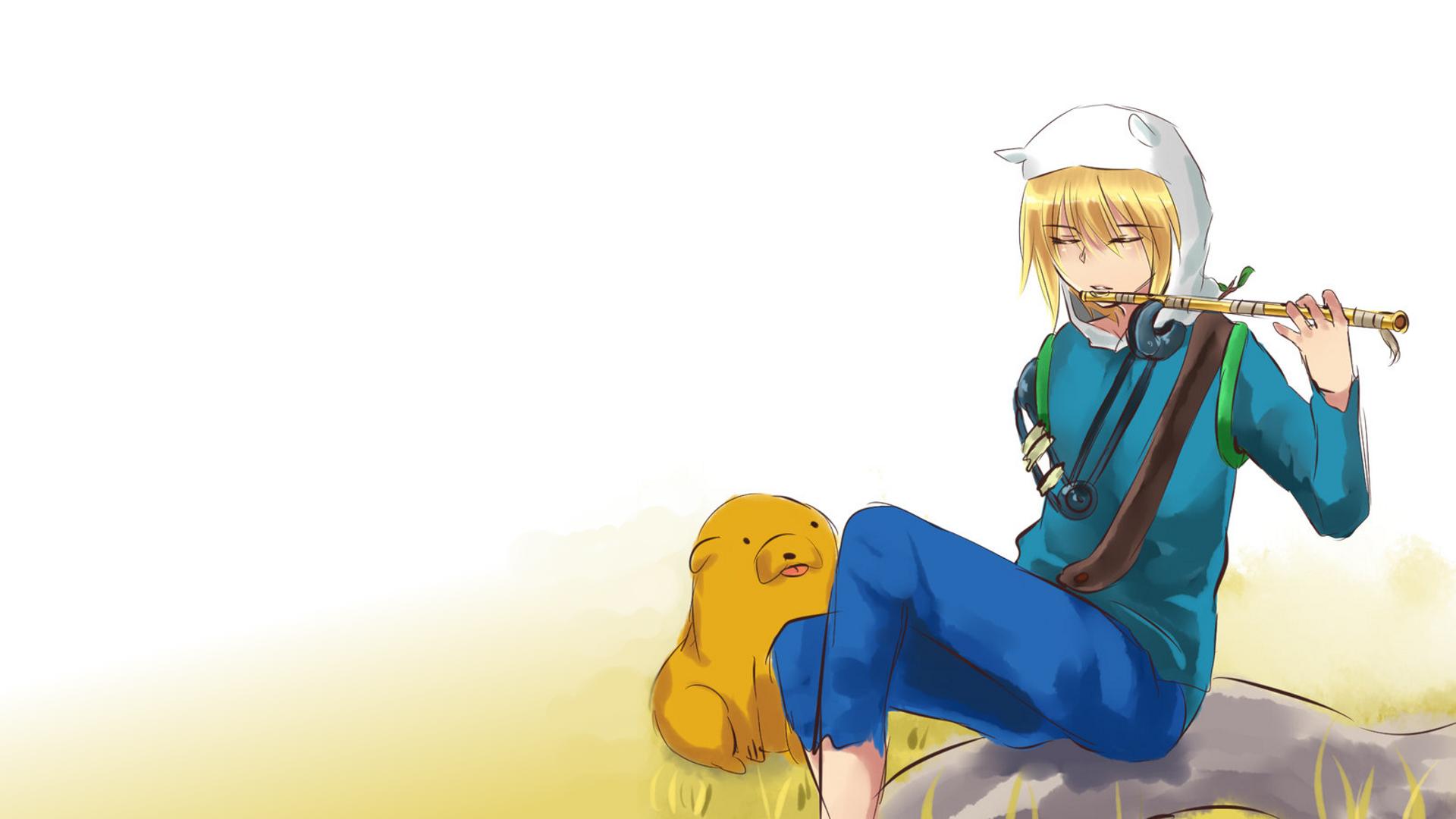 Wallpaper Adventure Time Finn The Human Jake The Dog Anime