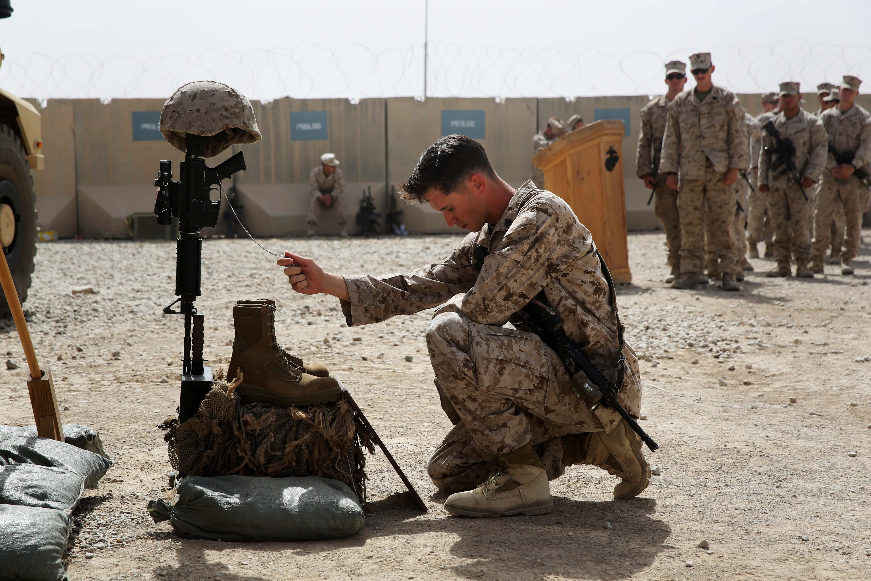 Wallpaper Afghanistan Usmc Freedom Marine Memorial Honor