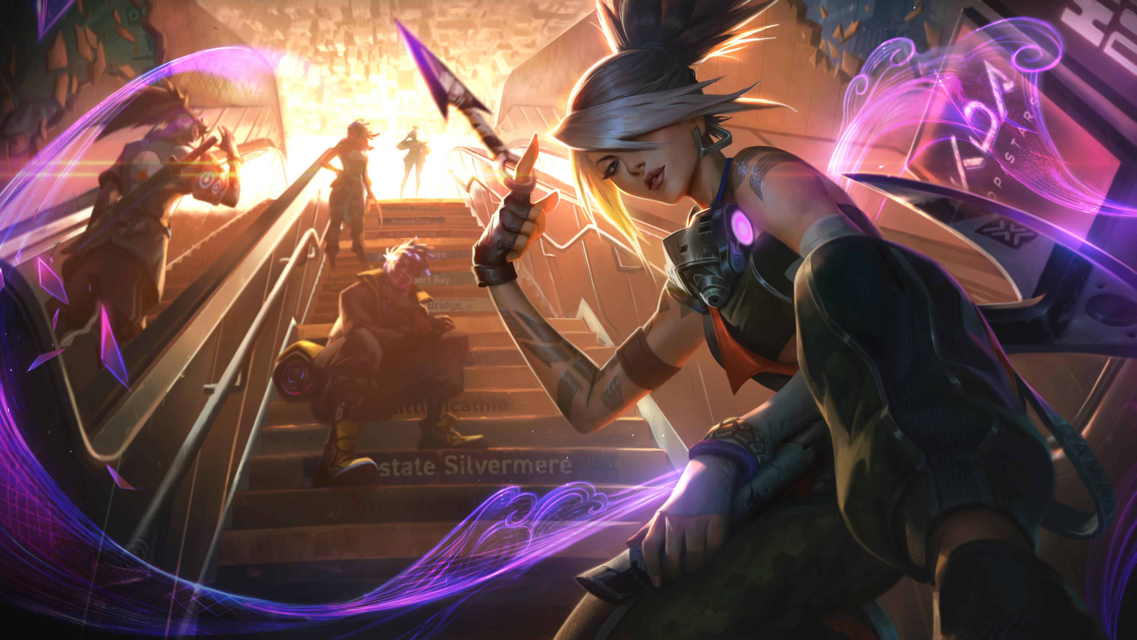Wallpaper Akali League Of Legends League Of Legends Riot