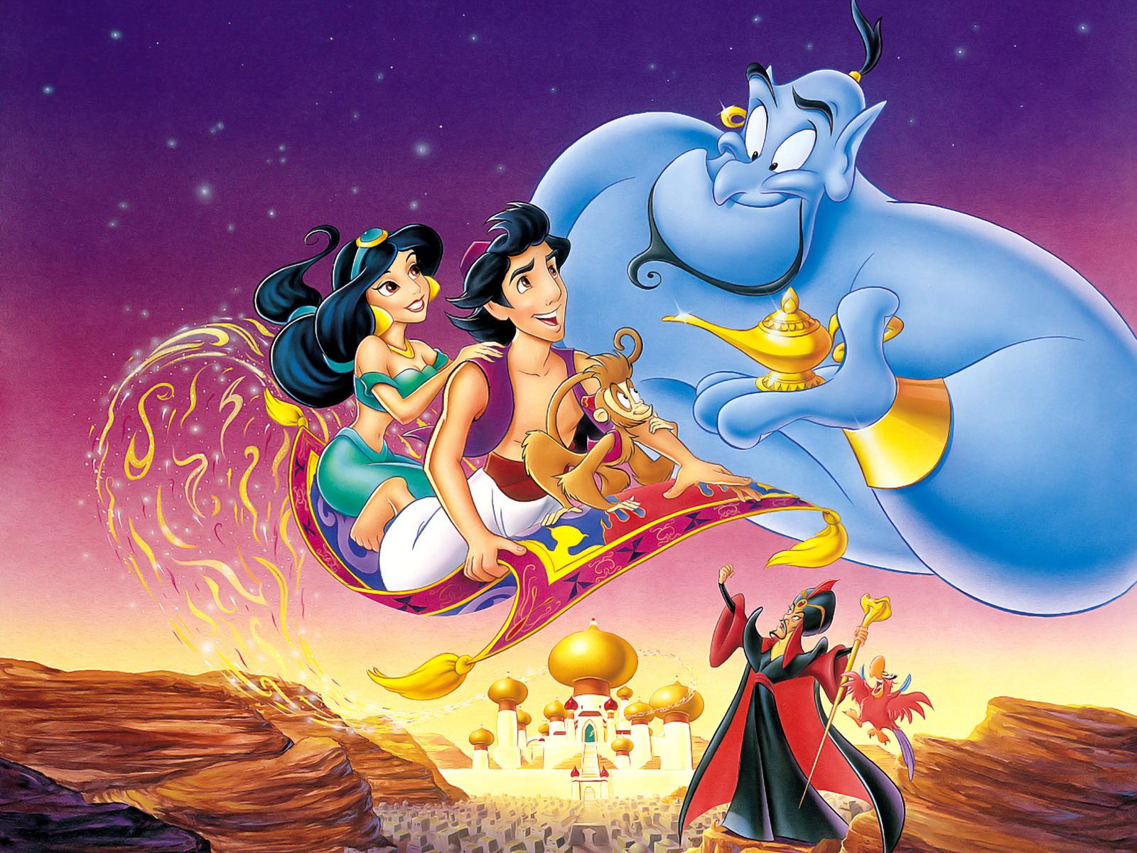 Wallpaper Aladdin Jasmine Genie 1600x1200 Wallpaperup