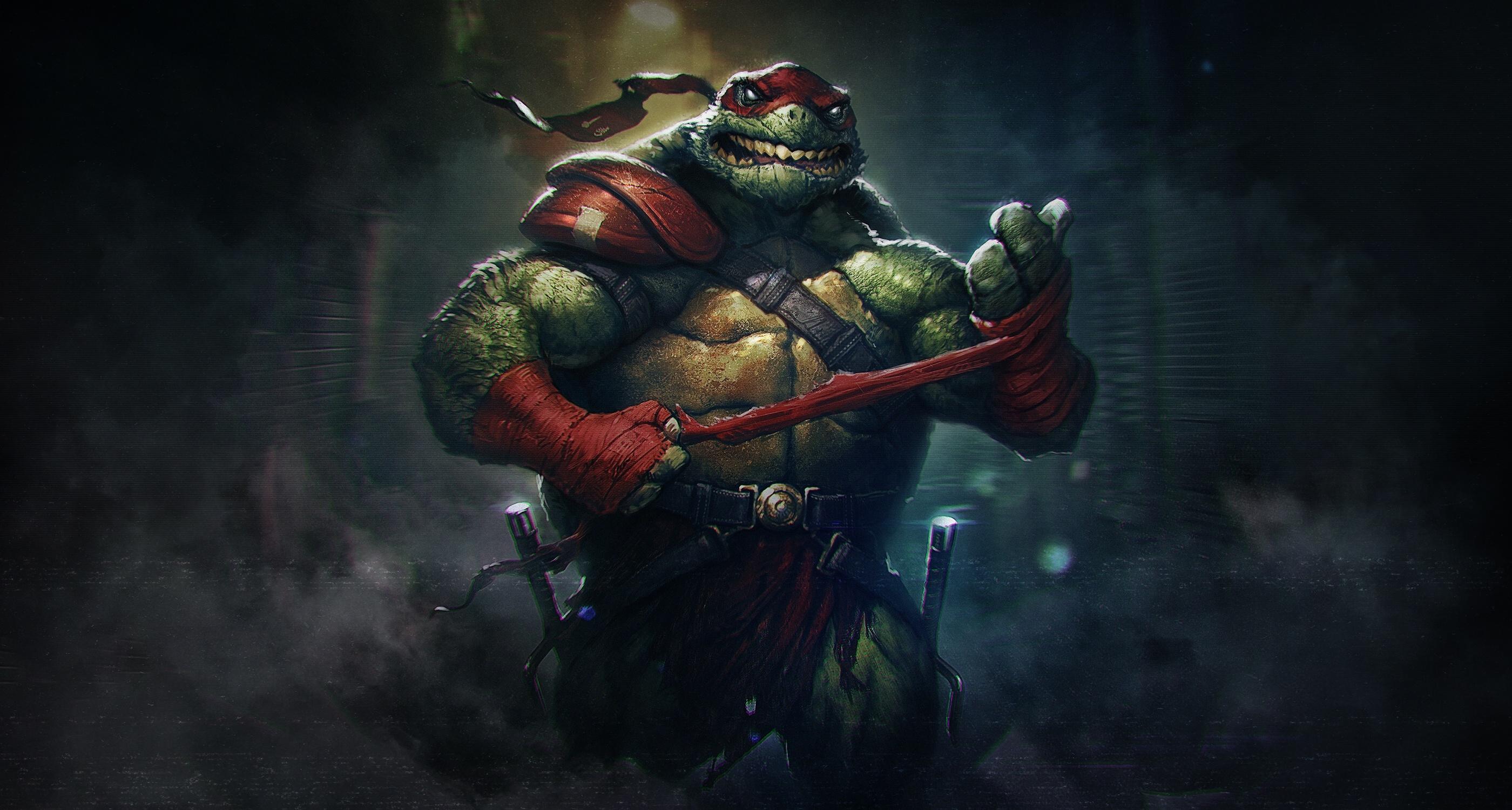 Wallpaper Alex Borsuk Teenage Mutant Ninja Turtles Fantasy Art