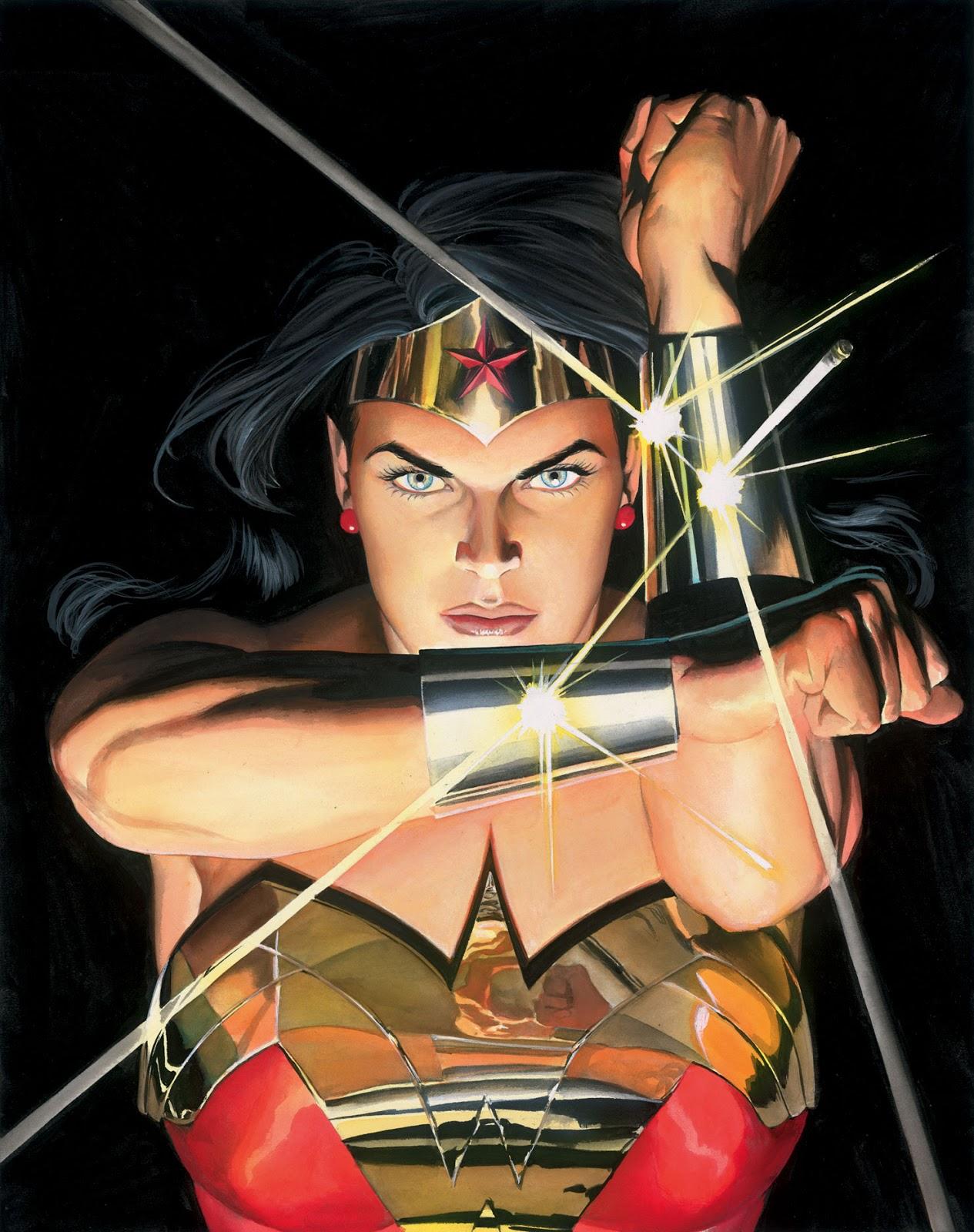 Wallpaper Alex Ross Wonder Woman Looking At Viewer 1265x1600