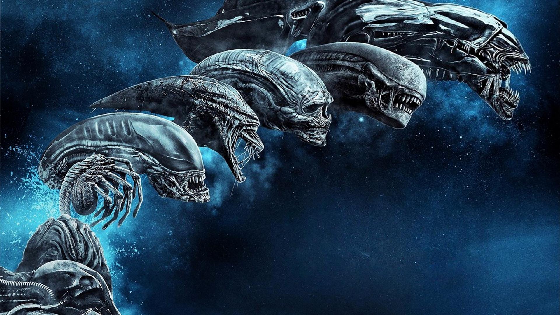 Wallpaper Alien Movie Alien Resurrection Prometheus