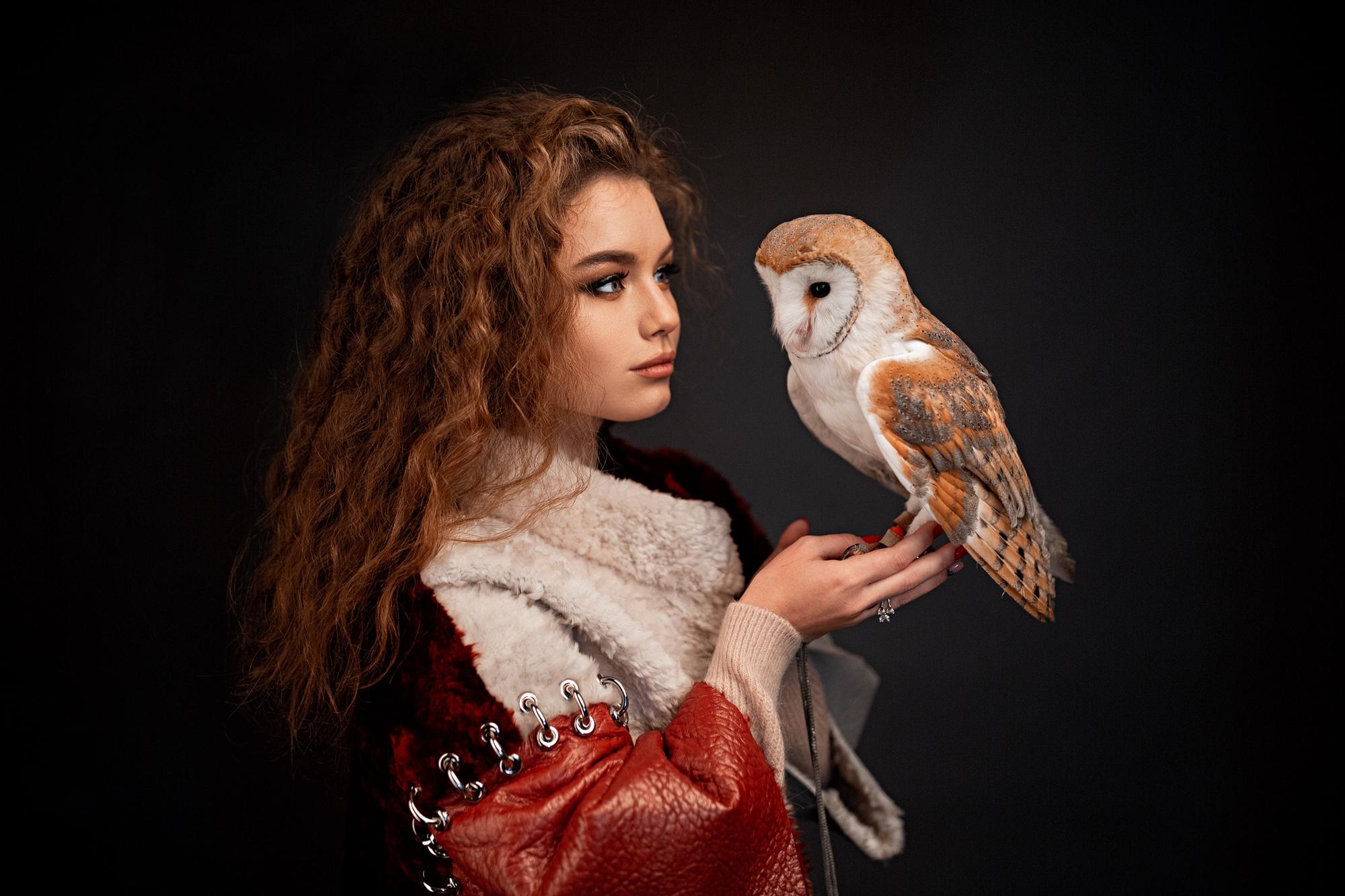 990 Wallpaper Wanita Burung Hantu HD Terbaik