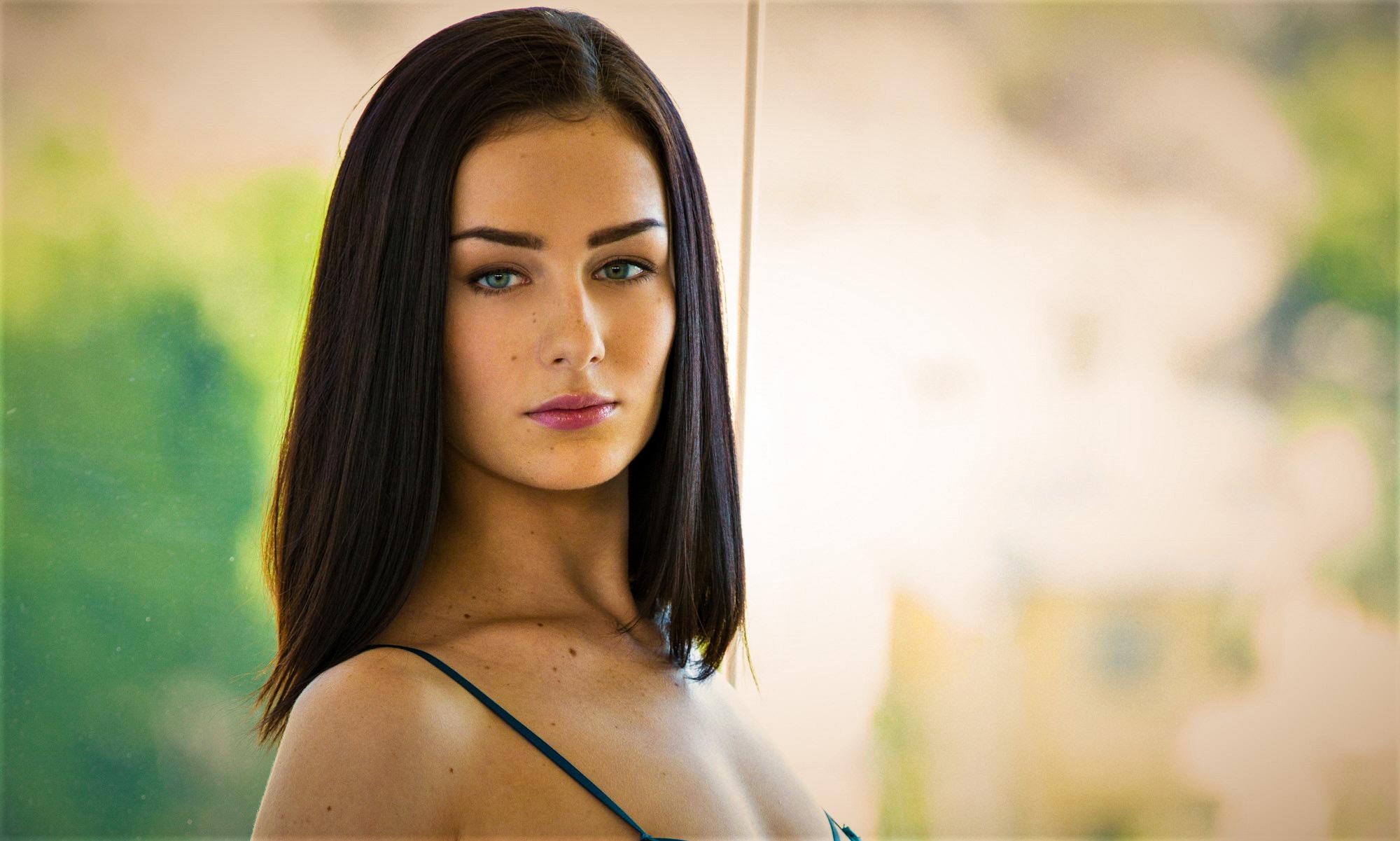Amanda Lane Nude wallpaper : amanda lane, model, portrait, black hair, women