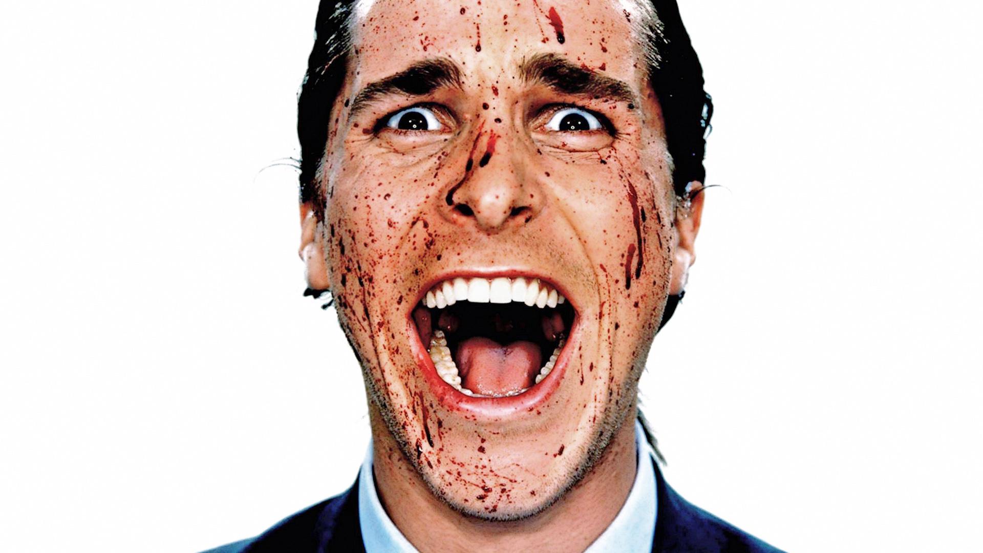 American Psycho Máu Christian Bale