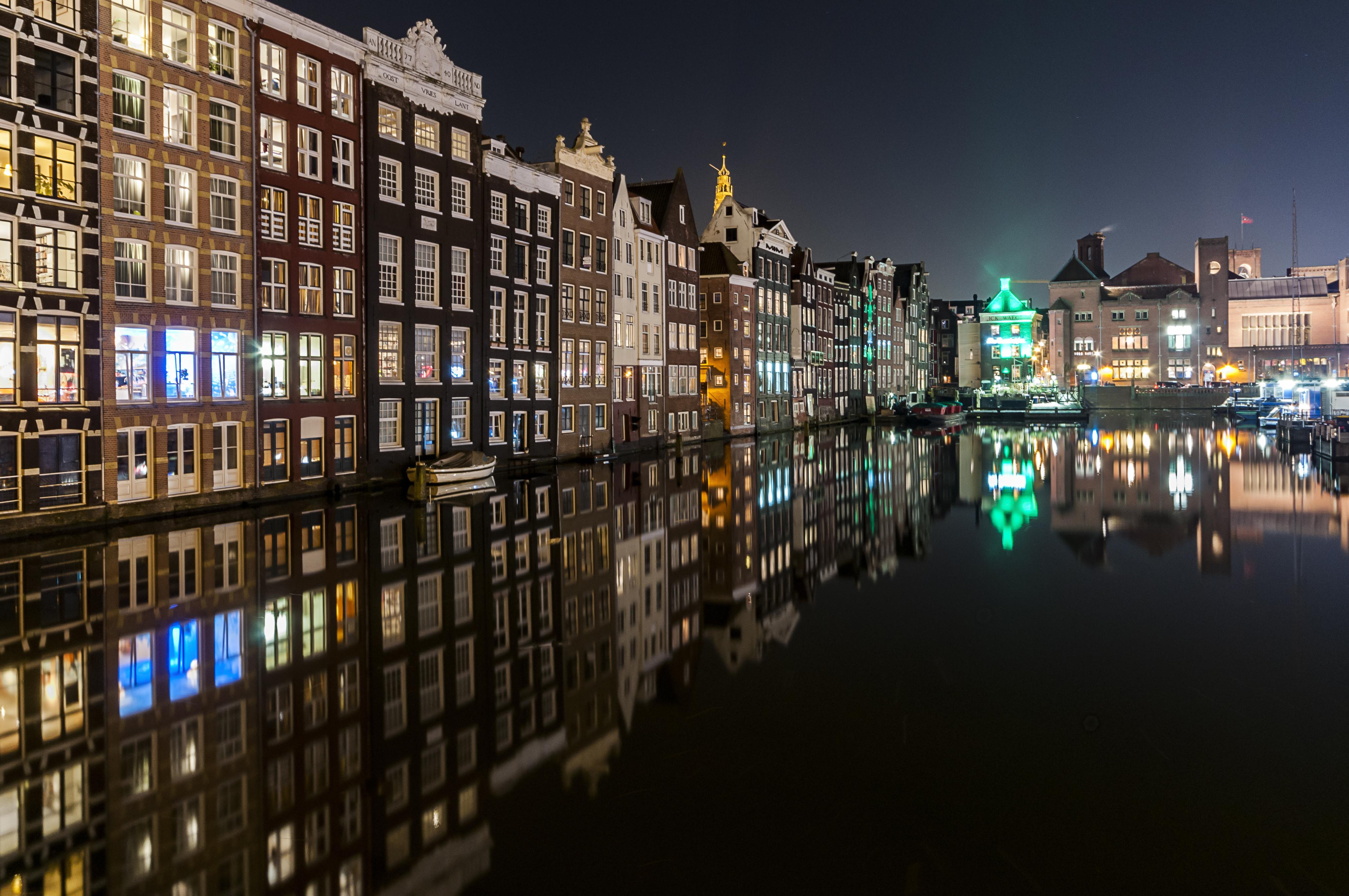 Licht Tour Amsterdam : Hintergrundbilder amsterdam betrachtung lange belichtung