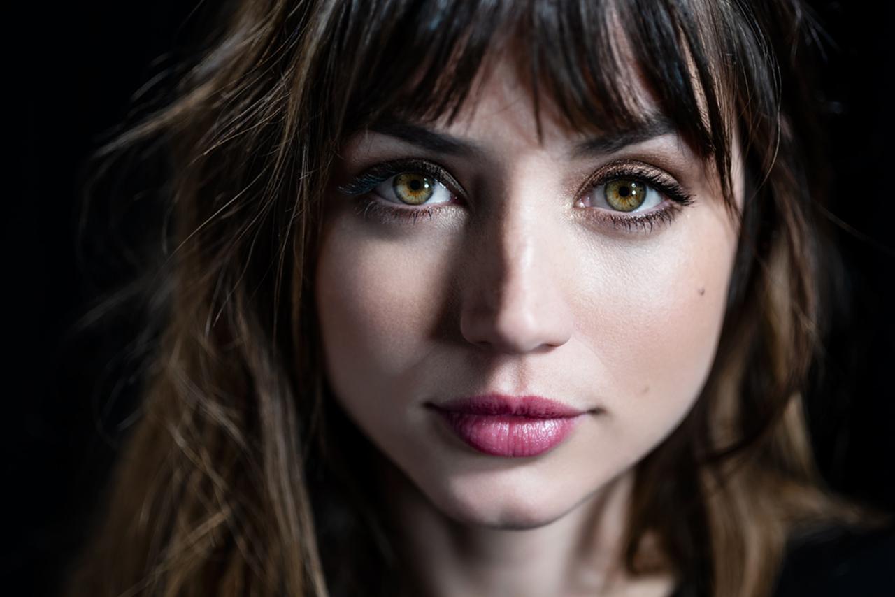 Wallpaper Ana De Armas Actress Women Face Lipstick Looking