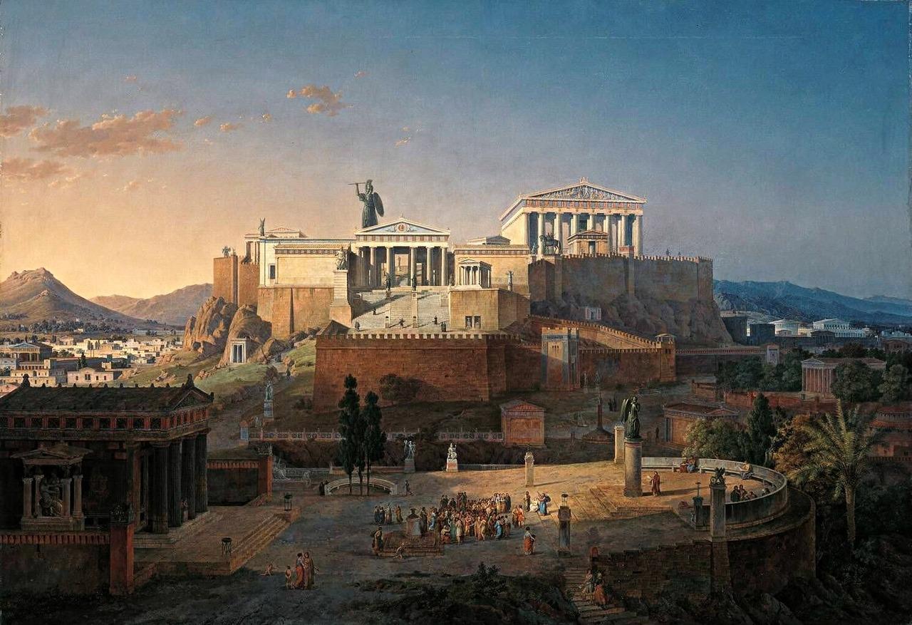 Города древней греции картинки